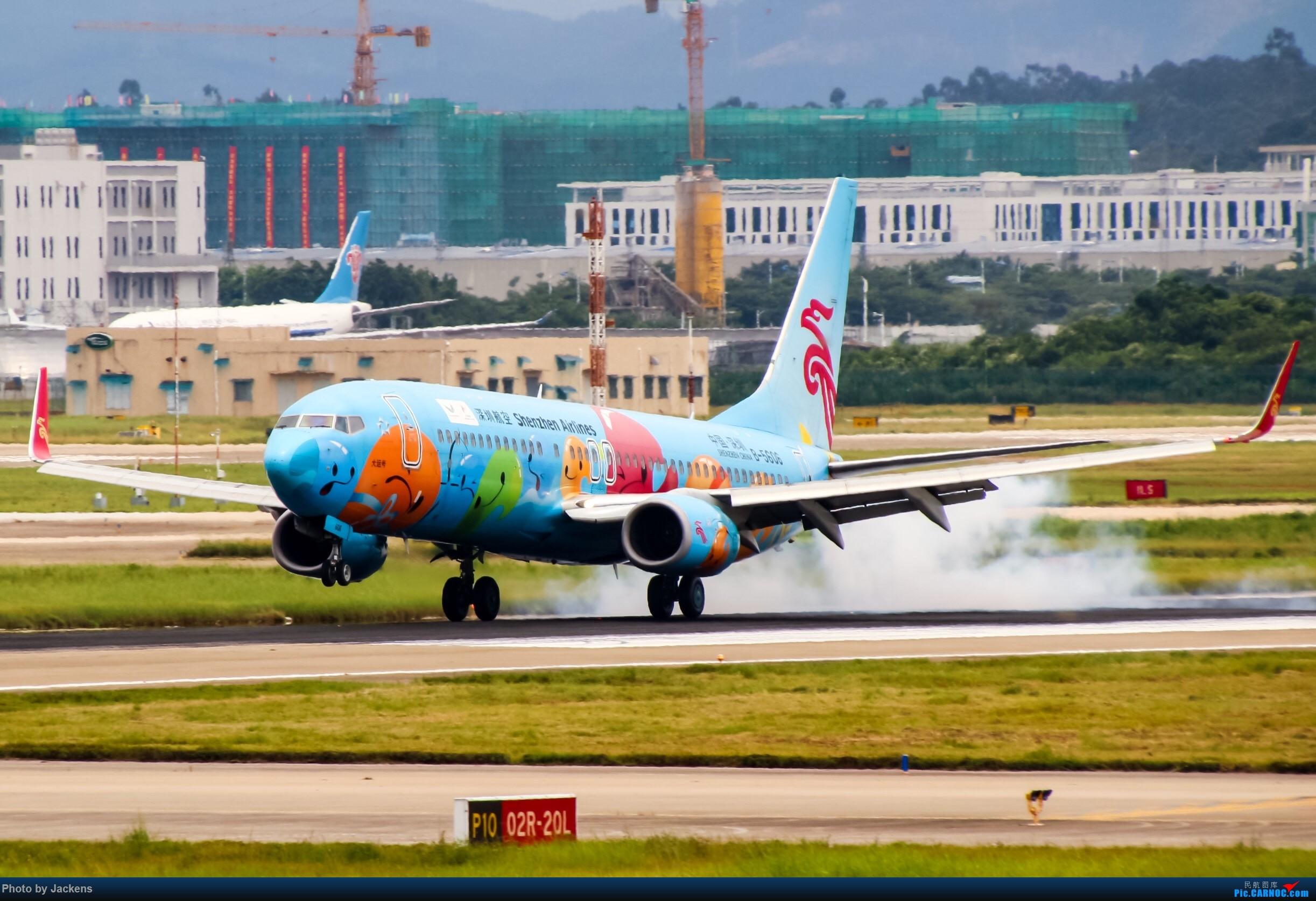 Re:[原创]【CAN】东跑常规货及加卤蛋复古. BOEING 737-800 B-5606 中国广州白云国际机场