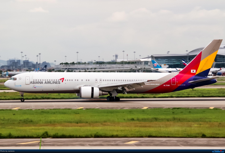 Re:[原创]【CAN】东跑常规货及加卤蛋复古. BOEING 767-300ER HL-7248 中国广州白云国际机场