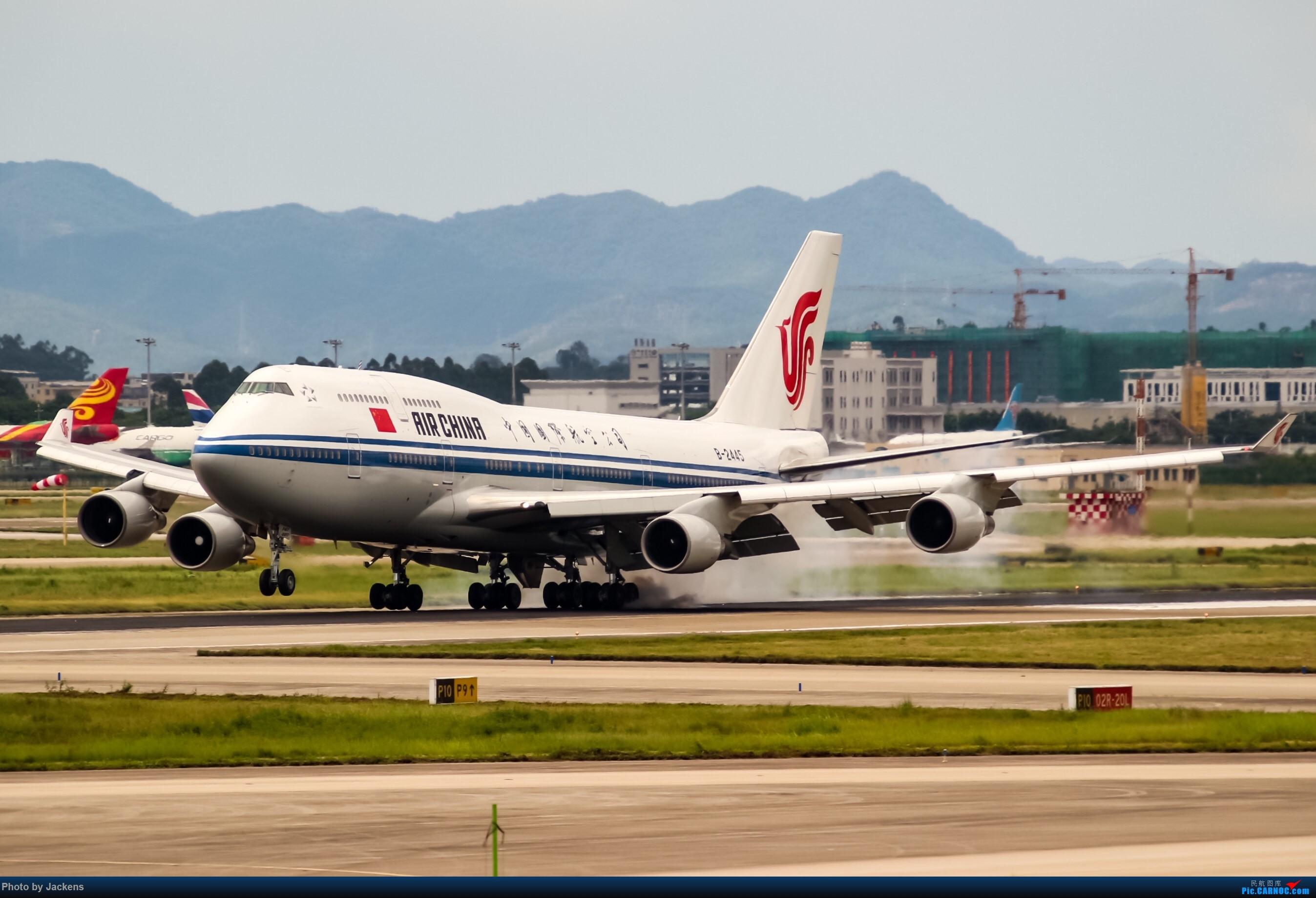 Re:[原创]【CAN】东跑常规货及加卤蛋复古. BOEING 747-400 B-2445 中国广州白云国际机场