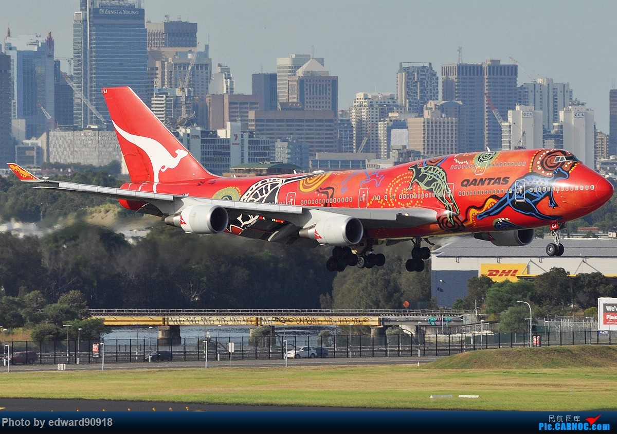 Re:[原创]【SYD】Blu EMU 停车场拍34L宽体起飞落地 BOEING 747-438/ER VH-OEJ 澳大利亚悉尼金斯福德·史密斯机场