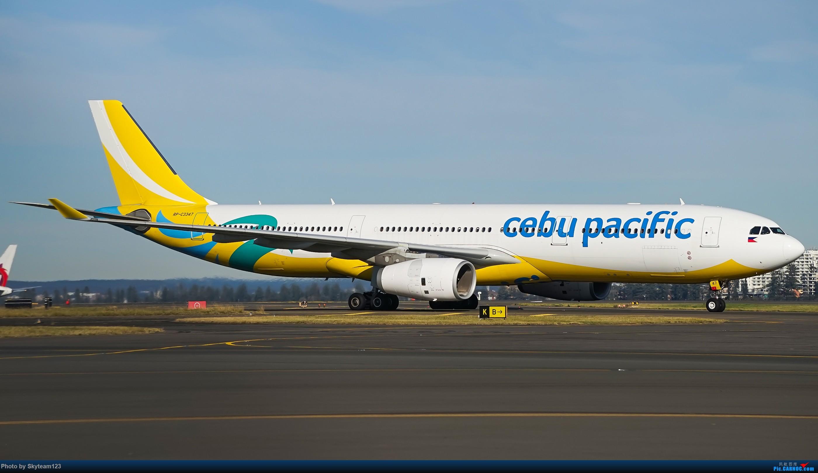 Re:[原创]【SYD】Blu EMU 停车场拍34L宽体起飞落地 AIRBUS A330-300 RP-C3347 澳大利亚悉尼金斯福德·史密斯机场