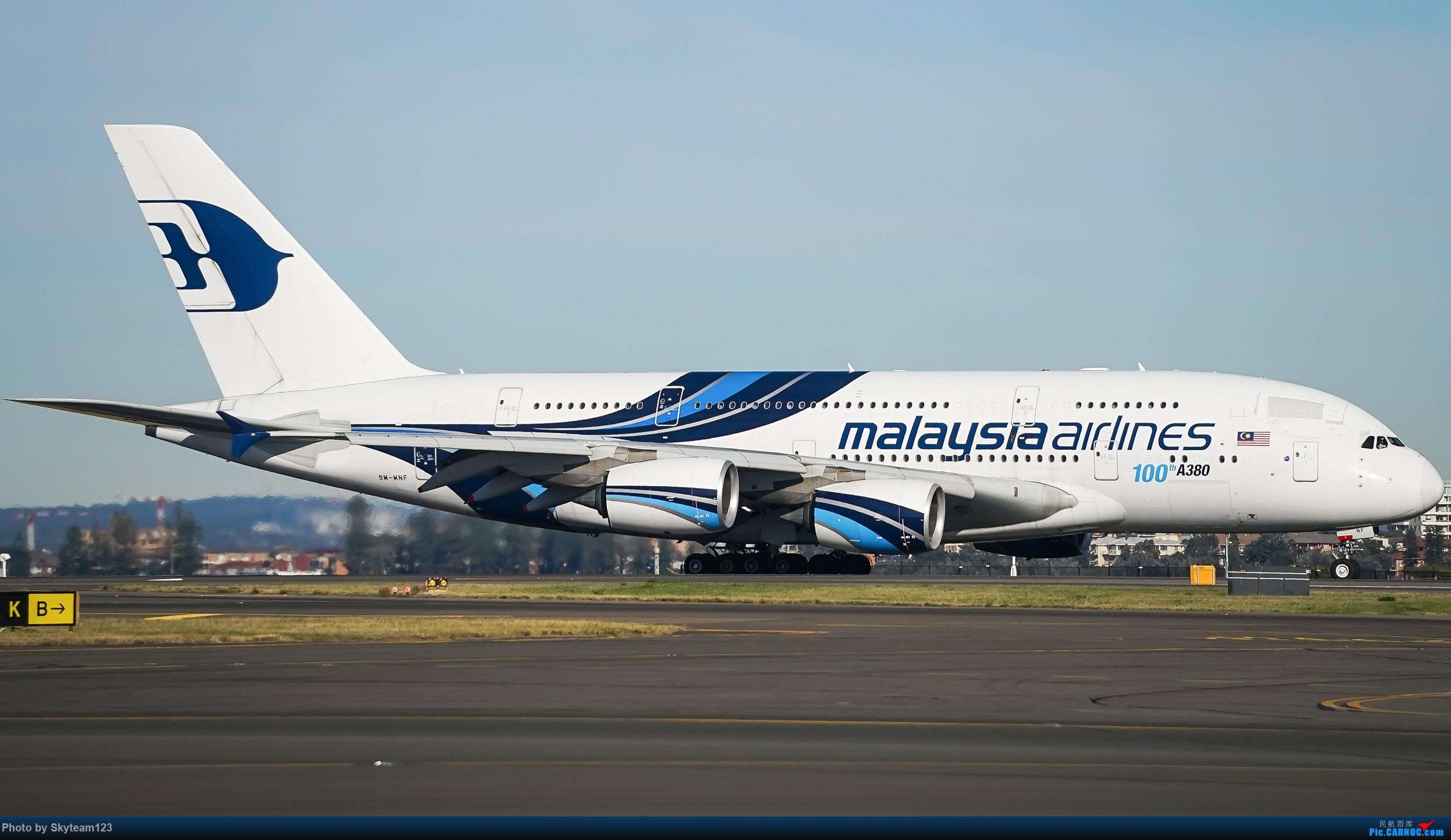 Re:[原创]【SYD】Blu EMU 停车场拍34L宽体起飞落地 AIRBUS A380-800 9M-MNF 澳大利亚悉尼金斯福德·史密斯机场