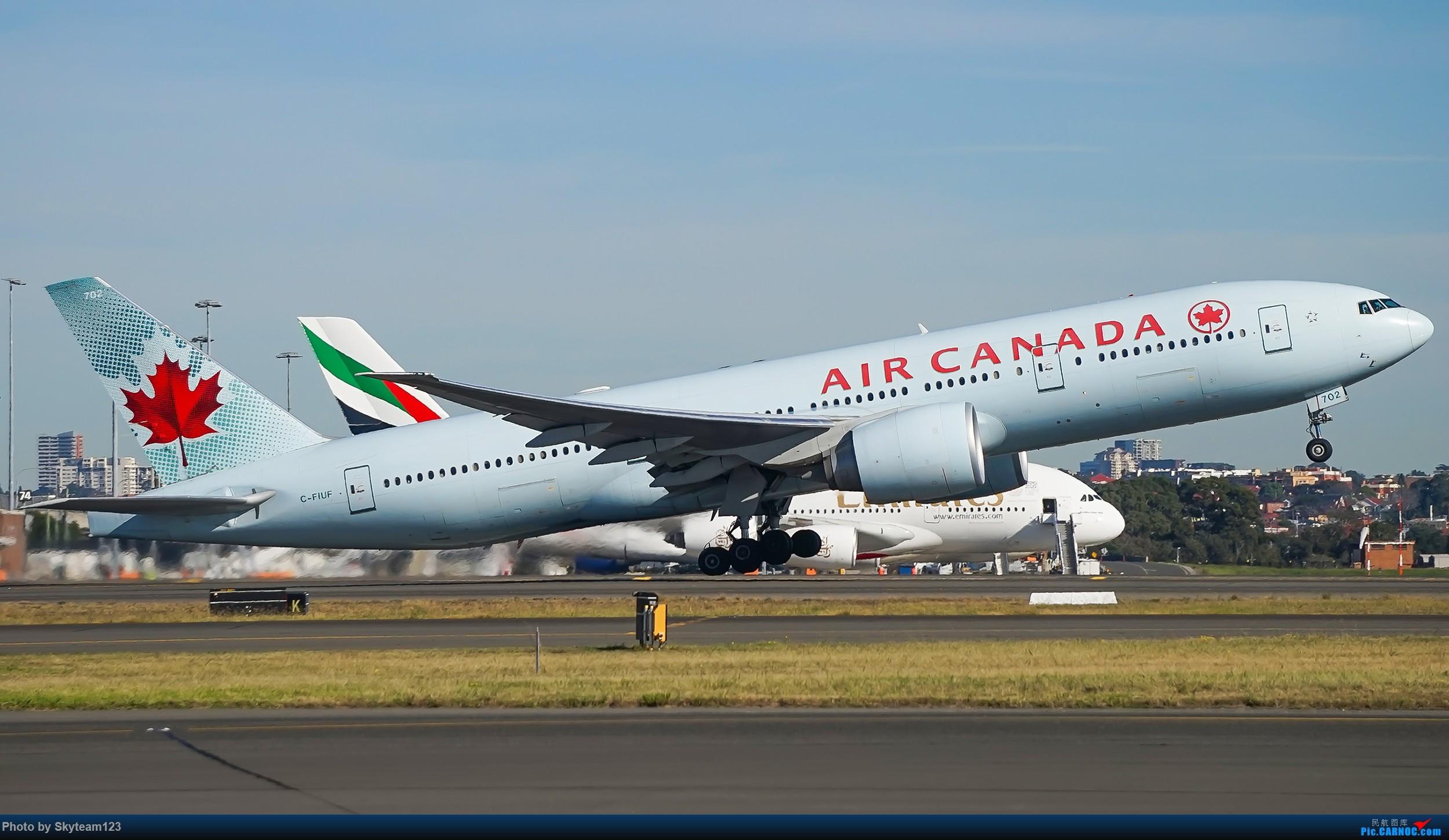 Re:【SYD】Blu EMU 停车场拍34L宽体起飞落地 BOEING 777-200LR C-FIUF 澳大利亚悉尼金斯福德·史密斯机场