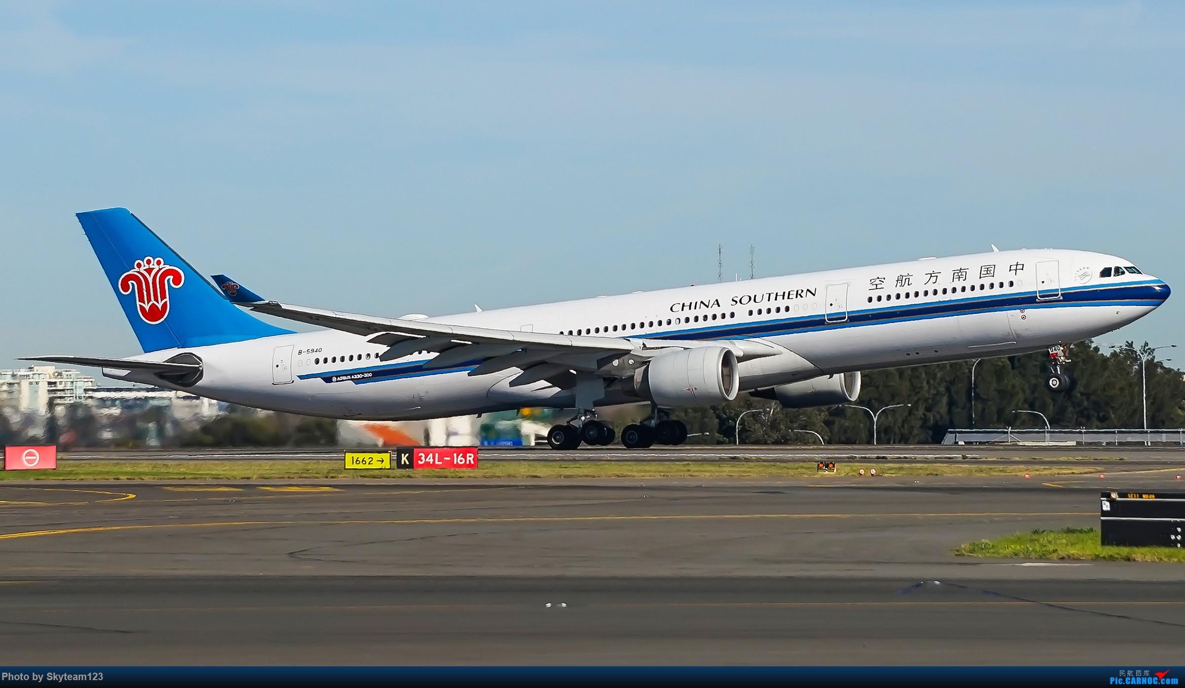 Re:[原创]【SYD】Blu EMU 停车场拍34L宽体起飞落地 AIRBUS A330-300 B-5940 澳大利亚悉尼金斯福德·史密斯机场