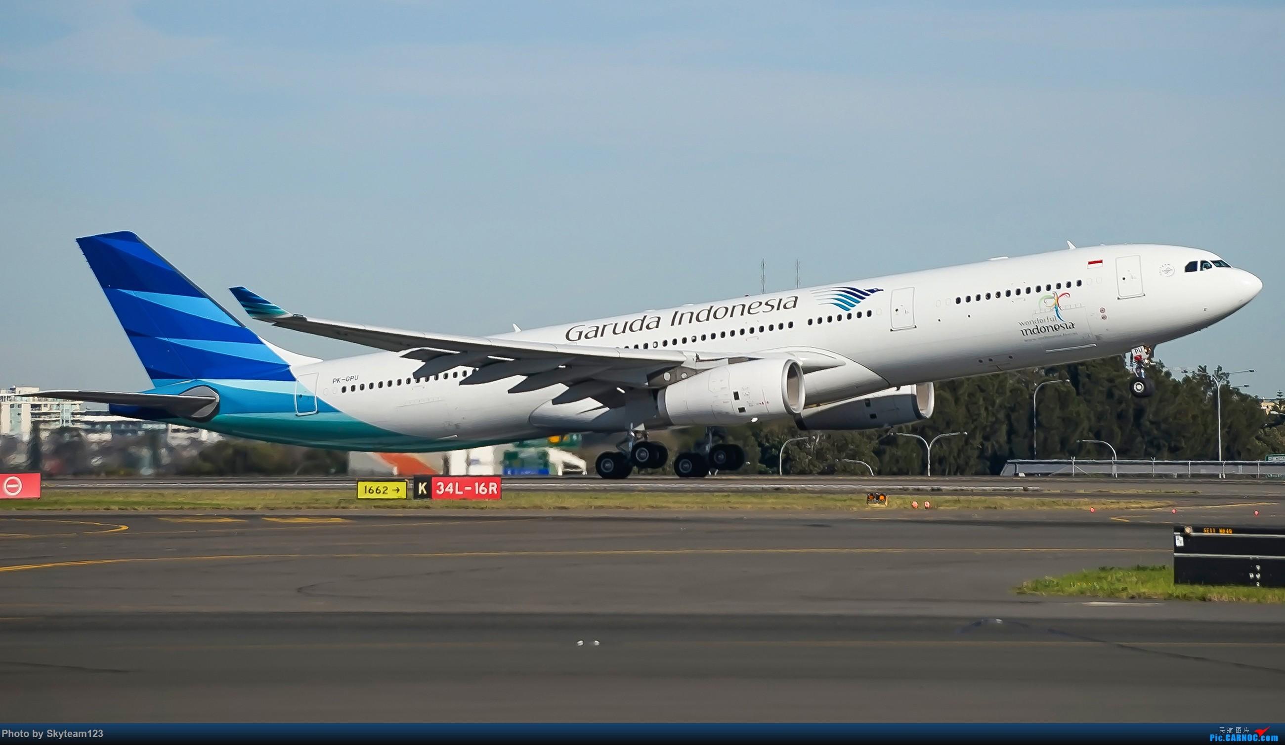 Re:[原创]【SYD】Blu EMU 停车场拍34L宽体起飞落地 AIRBUS A330-300 PK-GPU 澳大利亚悉尼金斯福德·史密斯机场