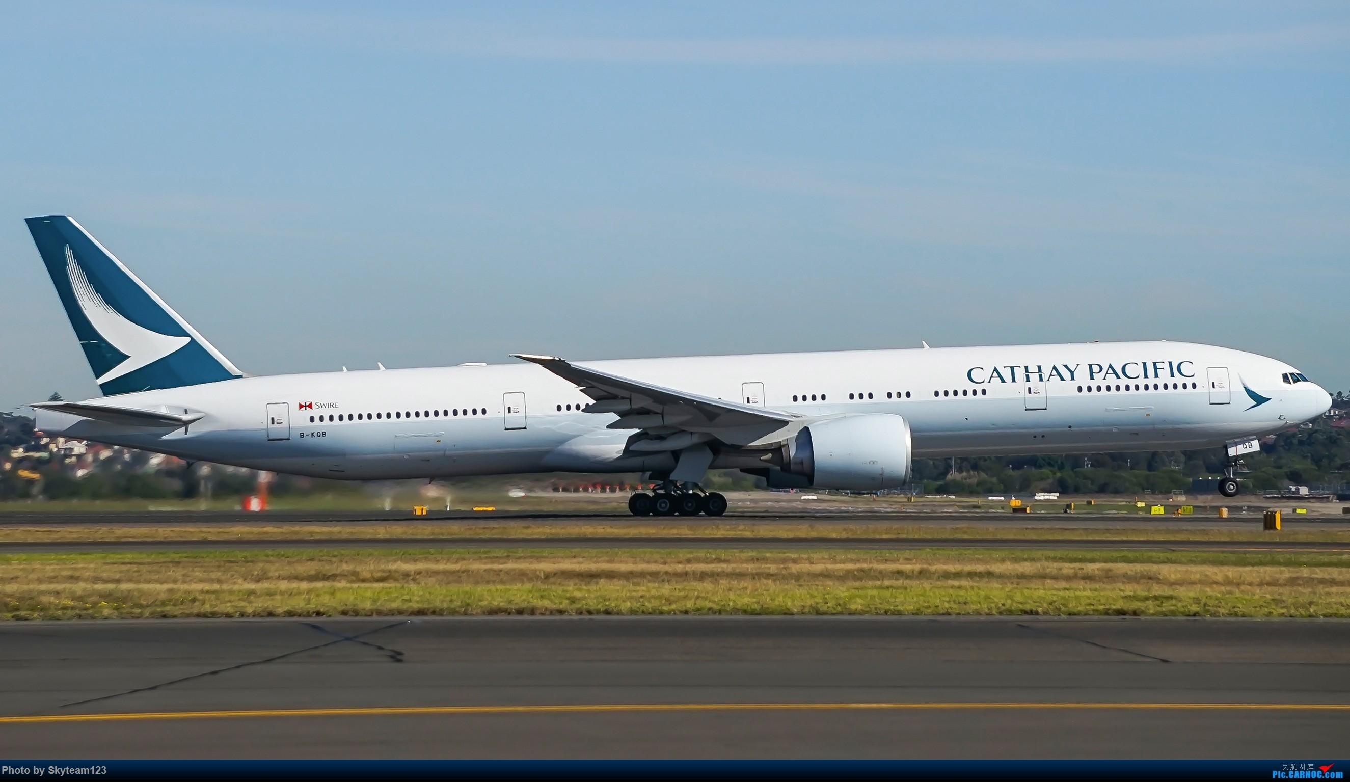 Re:[原创]【SYD】Blu EMU 停车场拍34L宽体起飞落地 BOEING 777-300ER B-KQB 澳大利亚悉尼金斯福德·史密斯机场