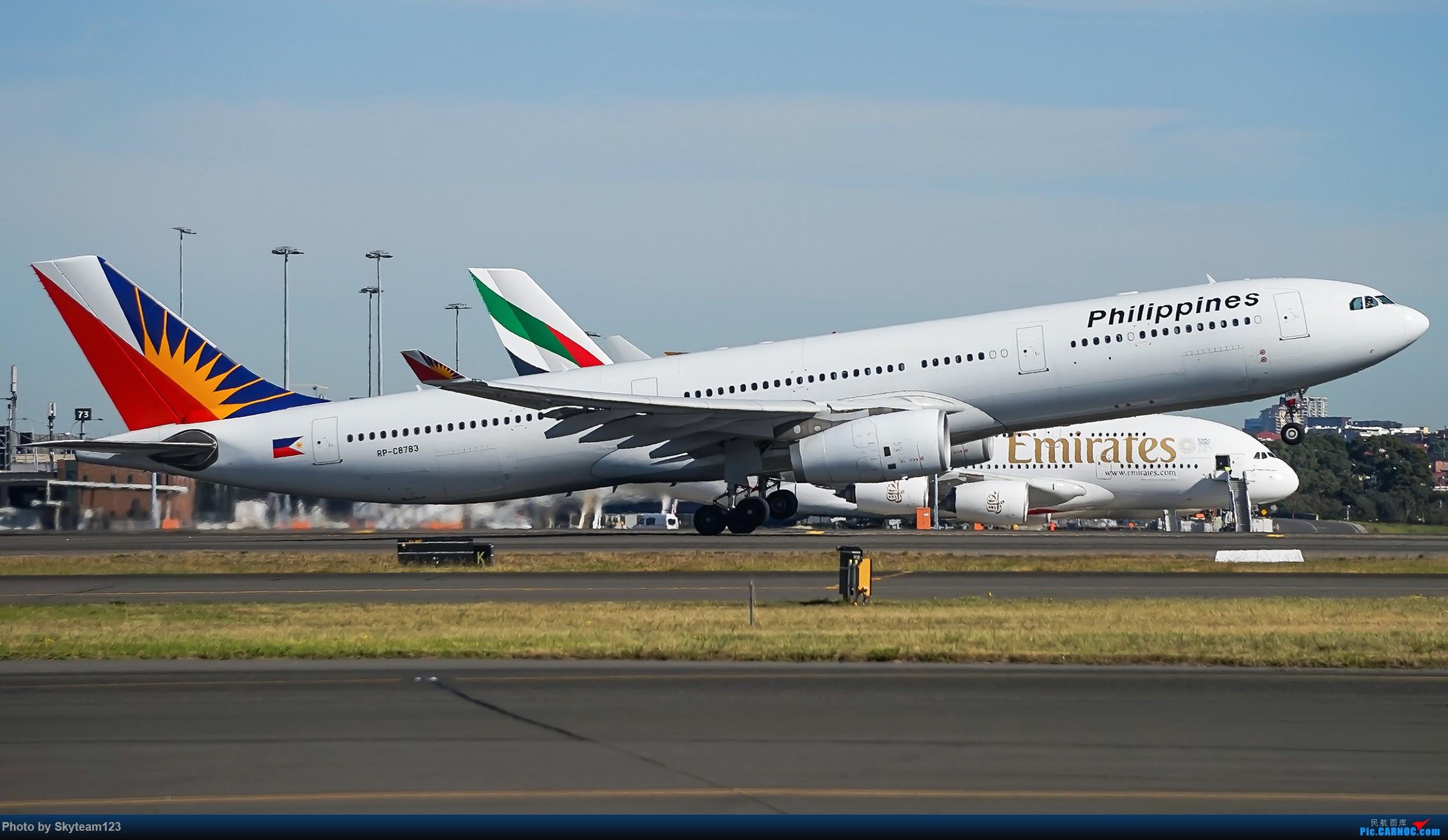 Re:[原创]【SYD】Blu EMU 停车场拍34L宽体起飞落地 AIRBUS A330-300 VRP-C8783 澳大利亚悉尼金斯福德·史密斯机场