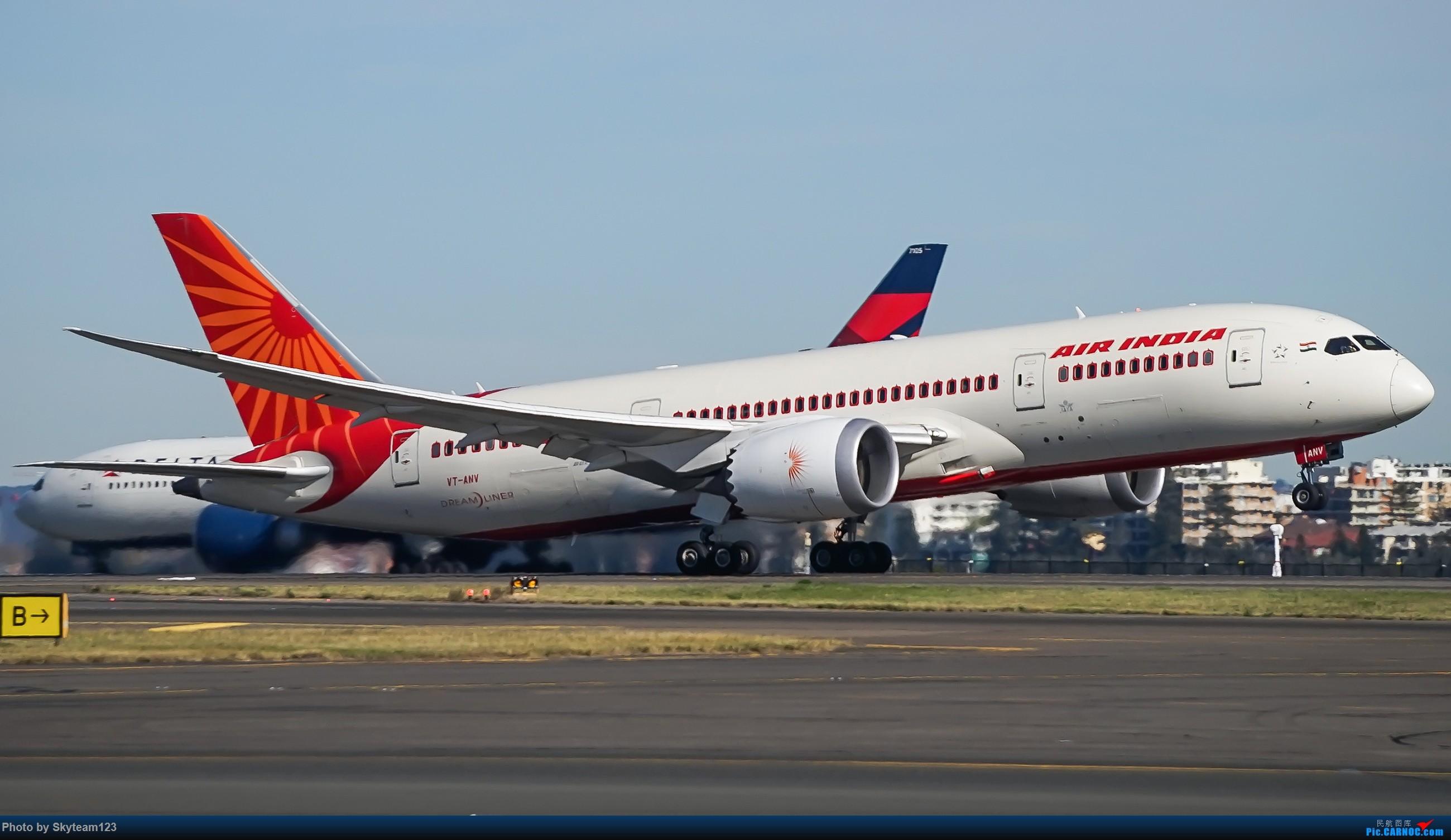 Re:[原创]【SYD】Blu EMU 停车场拍34L宽体起飞落地 BOEING 787-8 VT-ANV 澳大利亚悉尼金斯福德·史密斯机场