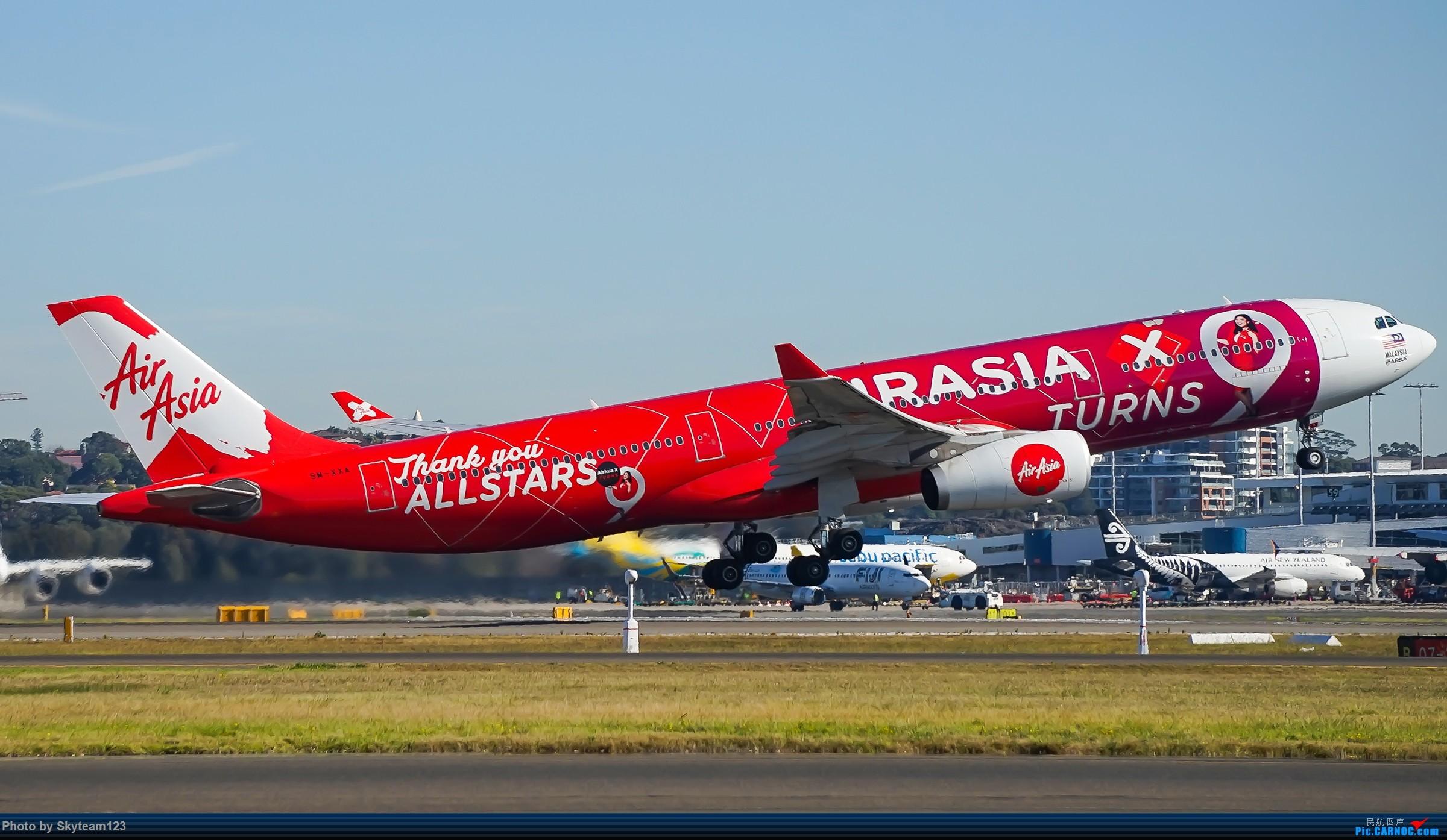 Re:[原创]【SYD】Blu EMU 停车场拍34L宽体起飞落地 AIRBUS A330-300 9M-XXA 澳大利亚悉尼金斯福德·史密斯机场