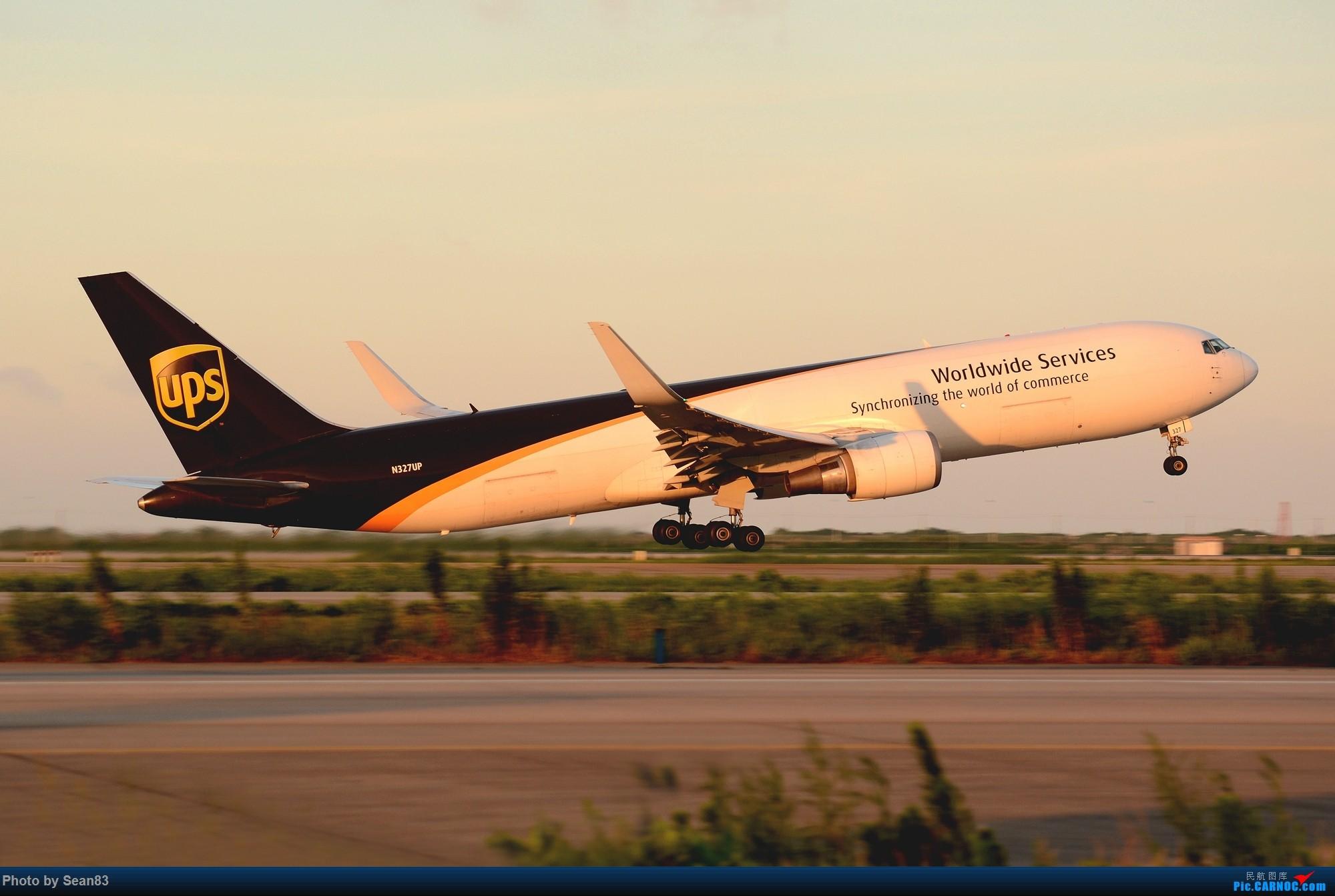 [原创](PVG)起 BOEING 767F N327UP 中国上海浦东国际机场