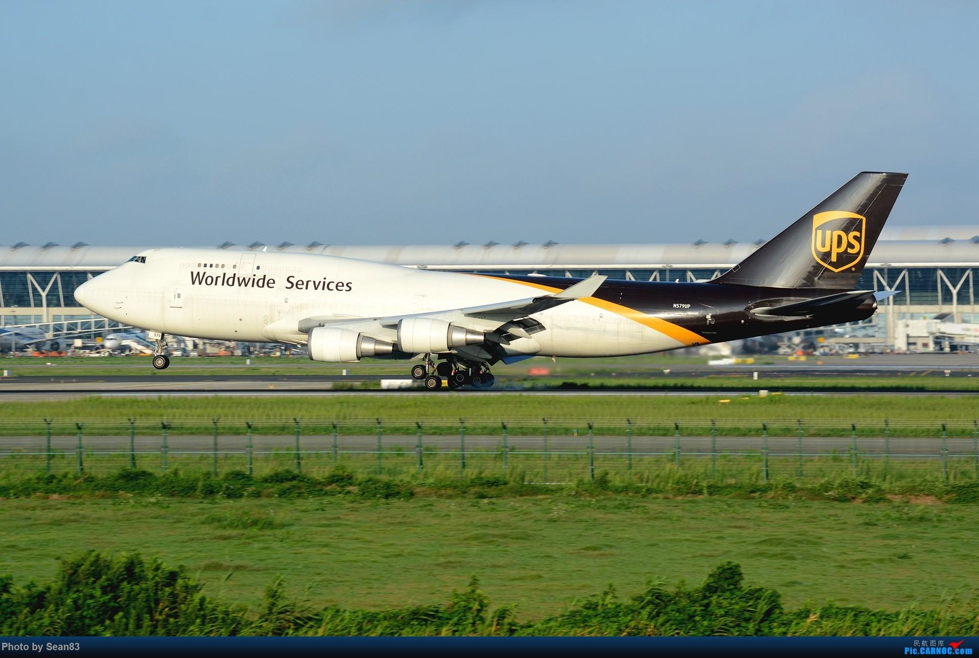 [原创](PVG)四、八 BOEING 747-400F N597UP 中国上海浦东国际机场