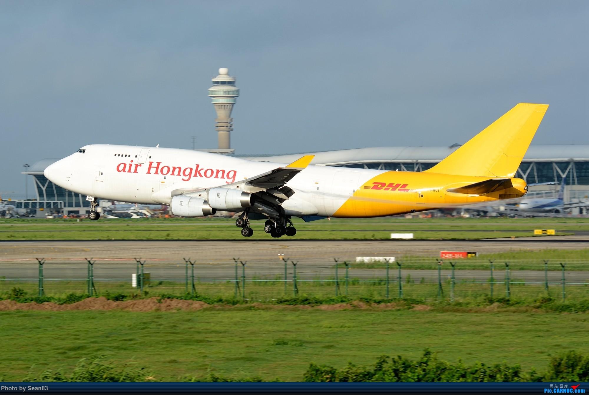 Re:[原创](PVG)四、八 BOEING 747-400F B-HUS 上海浦东国际机场