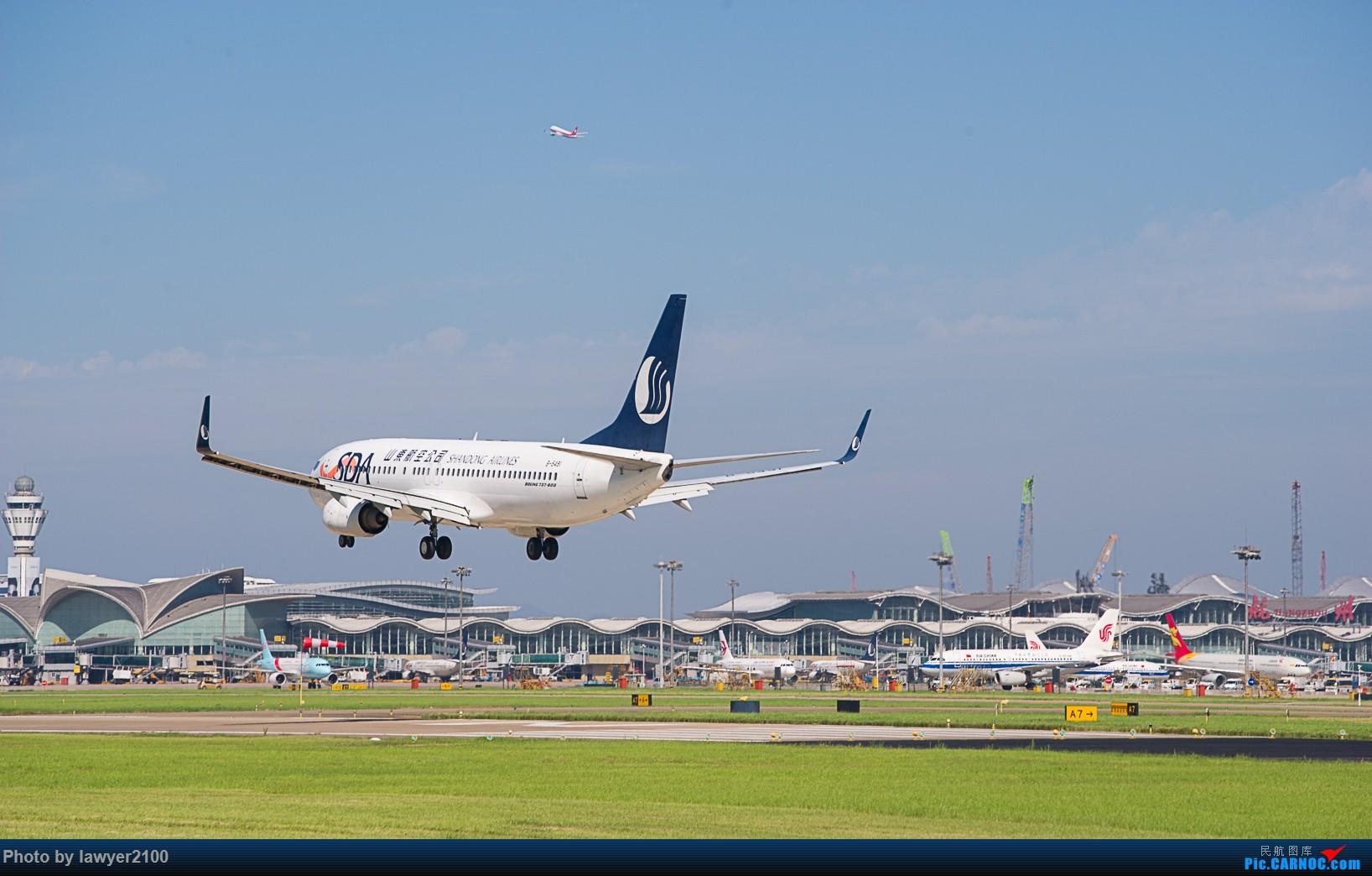 """一图党——""""山川""""双飞 BOEING 737-800 B-5491 中国杭州萧山国际机场"""