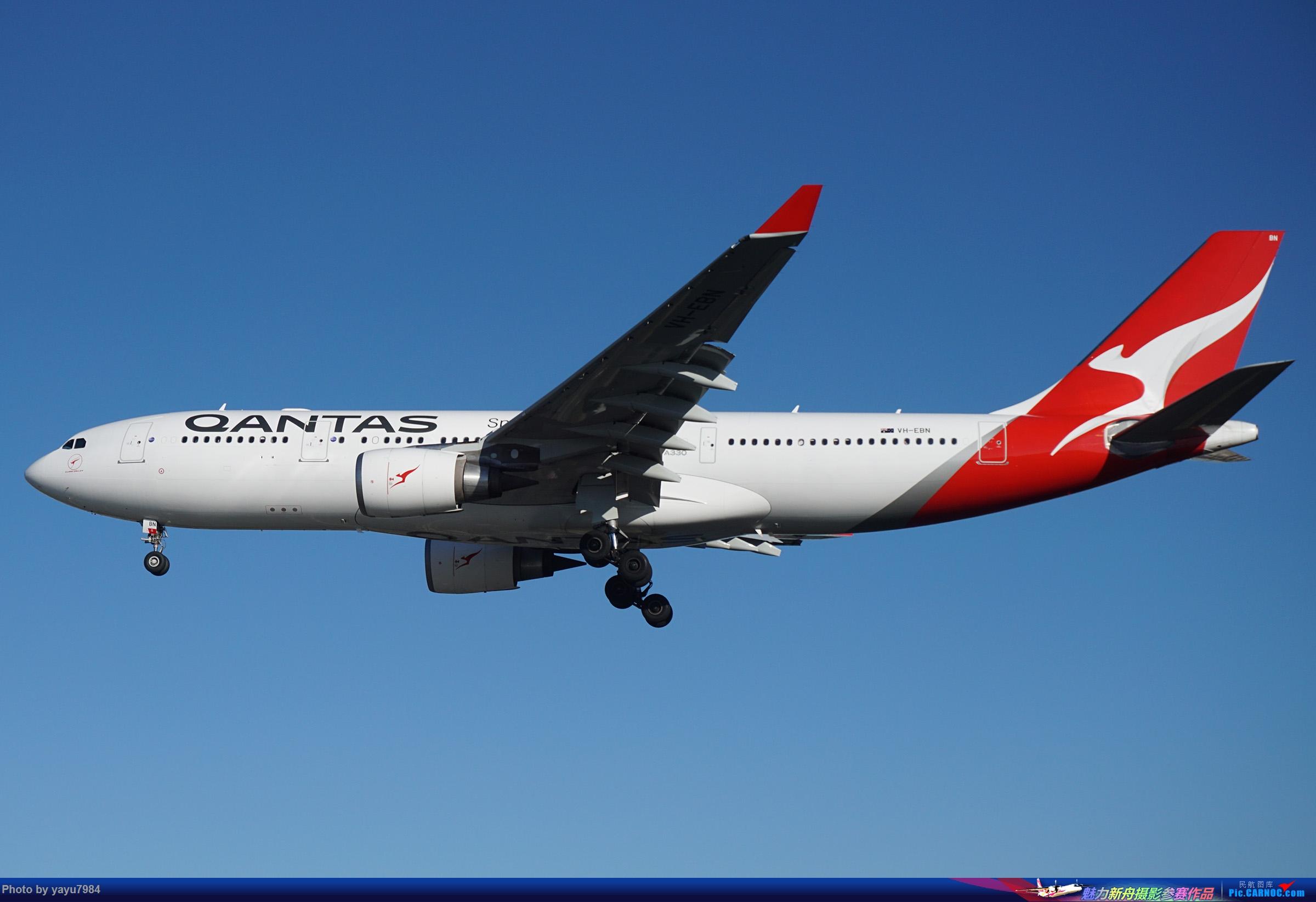 Re:[原创][SYD] 晨悉尼,16R扎堆到达 AIRBUS A330-200 VH-EBN 澳大利亚悉尼金斯福德·史密斯机场