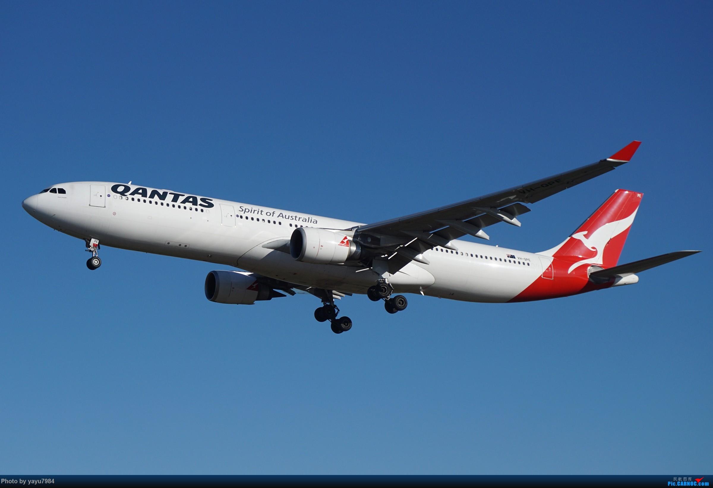 Re:[原创][SYD] 晨悉尼,16R扎堆到达 AIRBUS A330-300 VH-QPE 澳大利亚悉尼金斯福德·史密斯机场