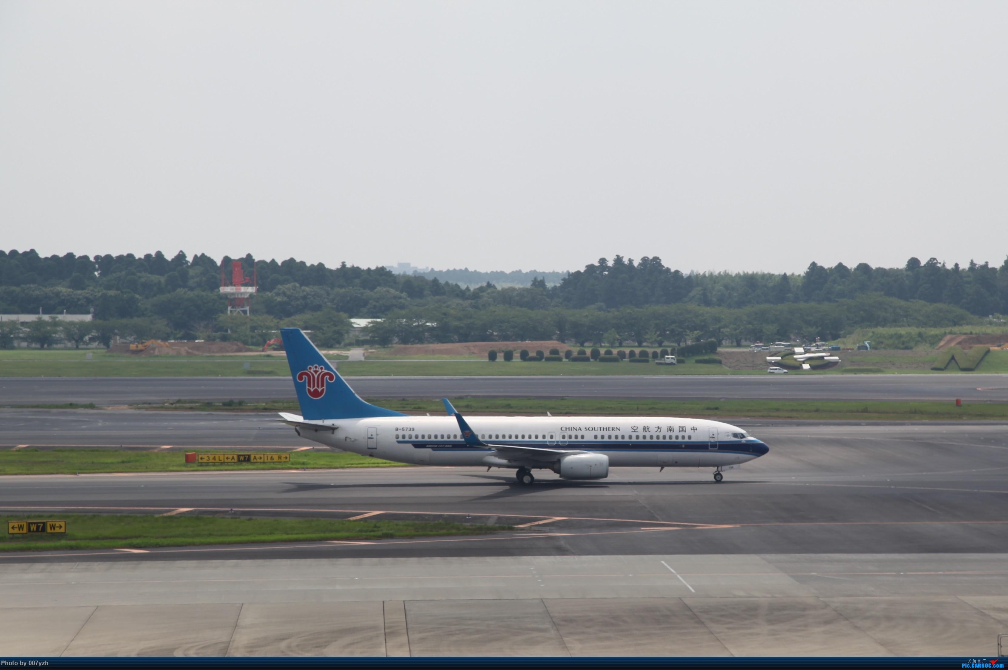 [原创]大热天NRT拍机 BOEING 737-800 B-5739 日本东京成田机场