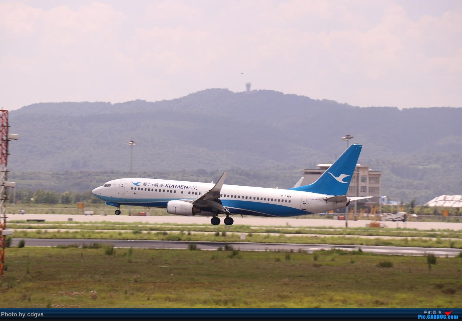Re:[原创]【KMG】昆明的一天 1600大图 一次看个爽 BOEING 737-800 B-5355 中国昆明长水国际机场