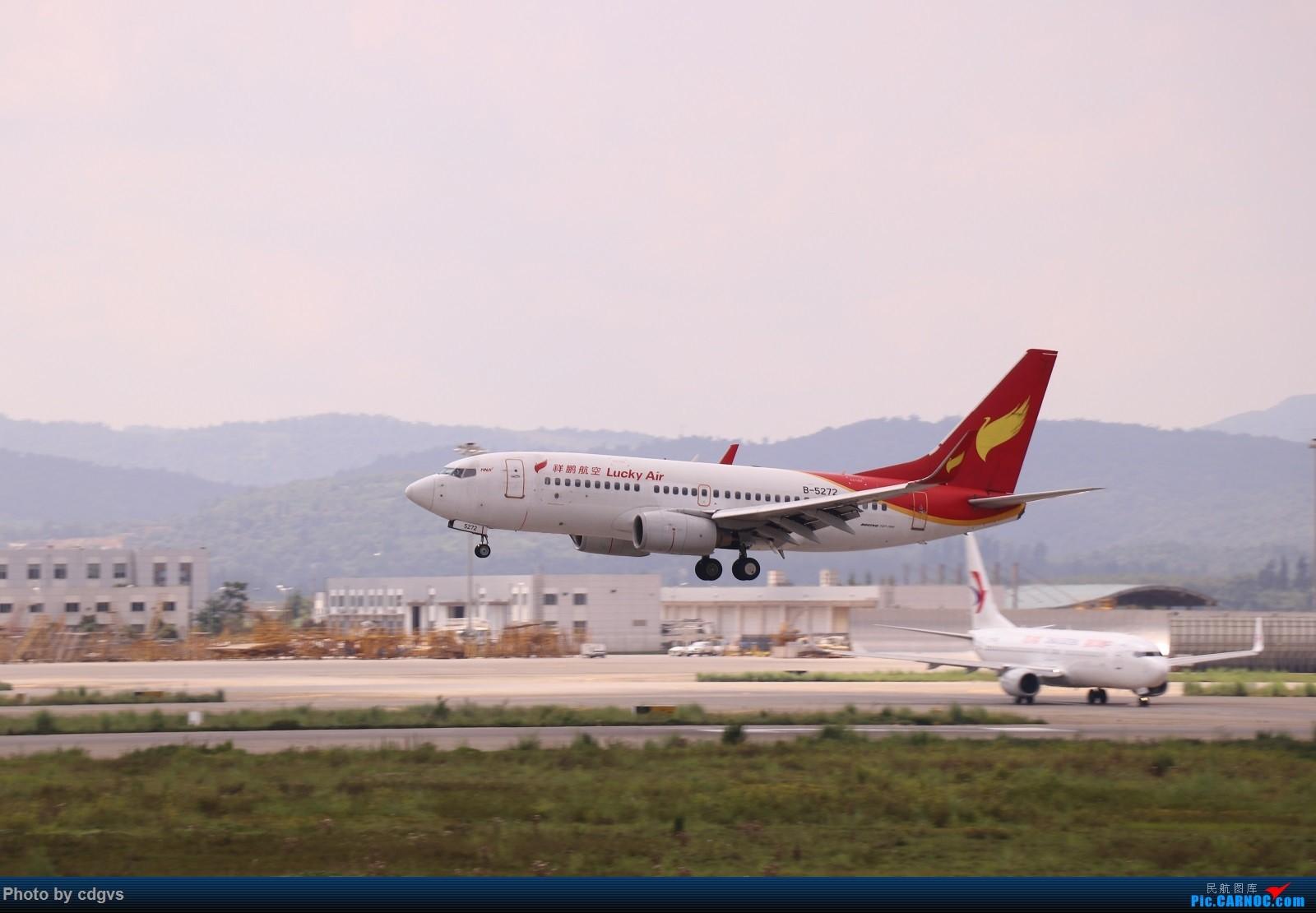 Re:[原创]【KMG】昆明的一天 1600大图 一次看个爽 BOEING 737-700 B-5272 中国昆明长水国际机场