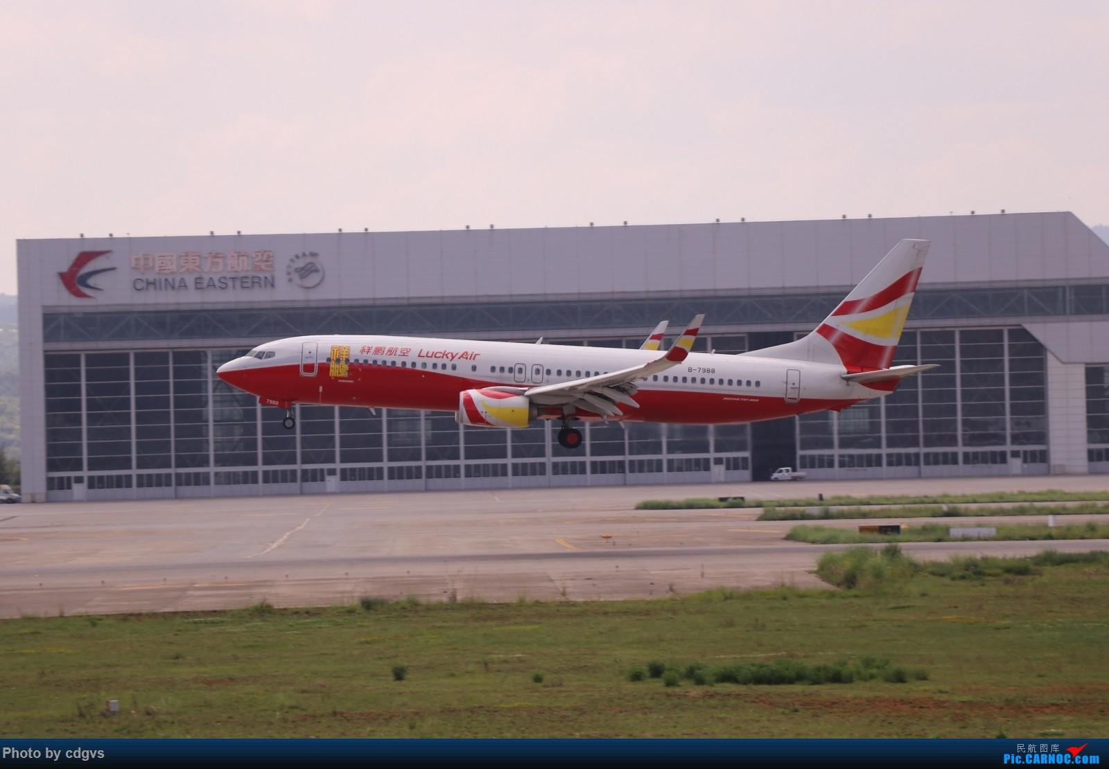 Re:[原创]【KMG】昆明的一天 1600大图 一次看个爽 BOEING 737-800 B-7988 中国昆明长水国际机场