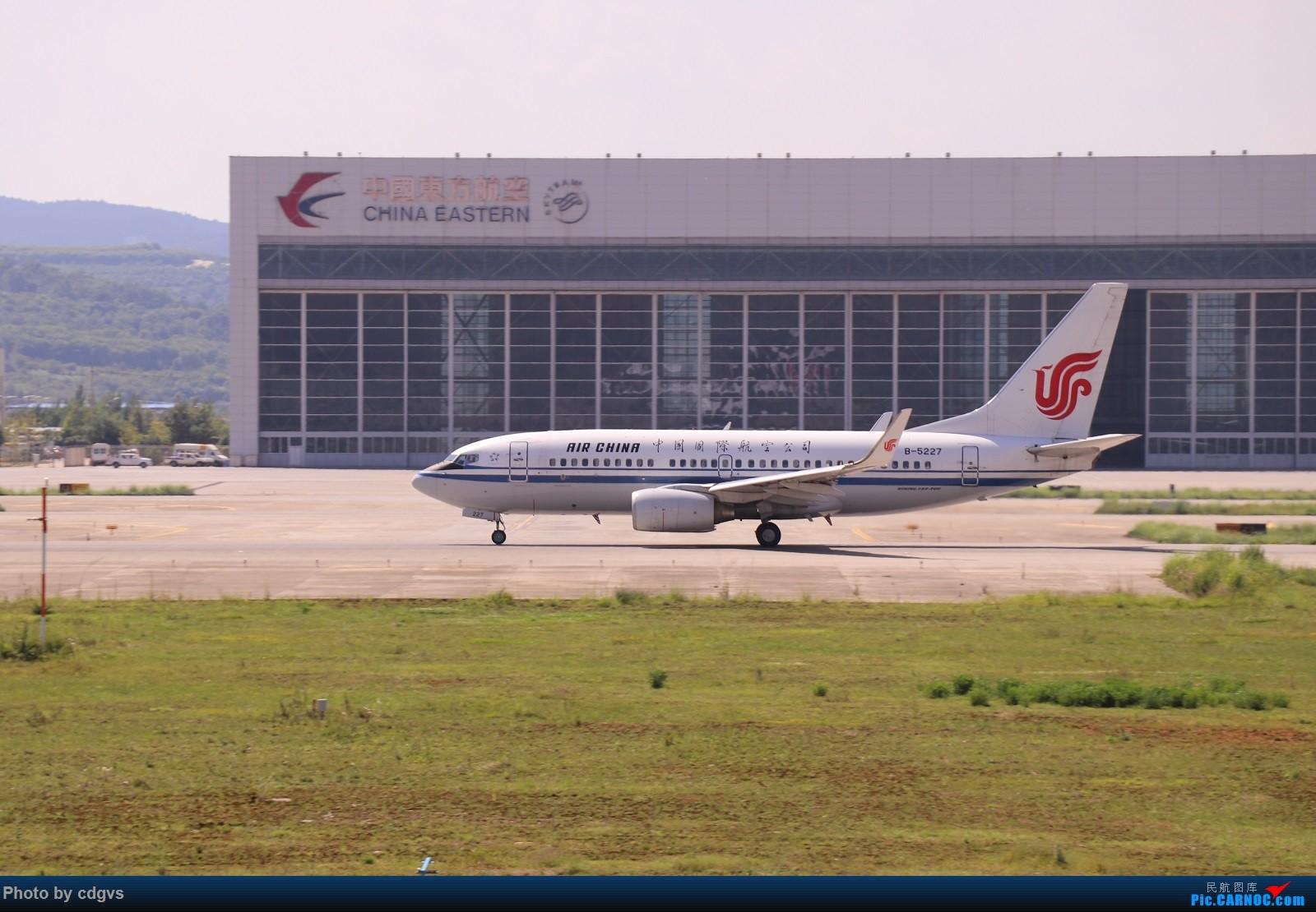 Re:[原创]【KMG】昆明的一天 1600大图 一次看个爽 BOEING 737-700 B-5227 中国昆明长水国际机场