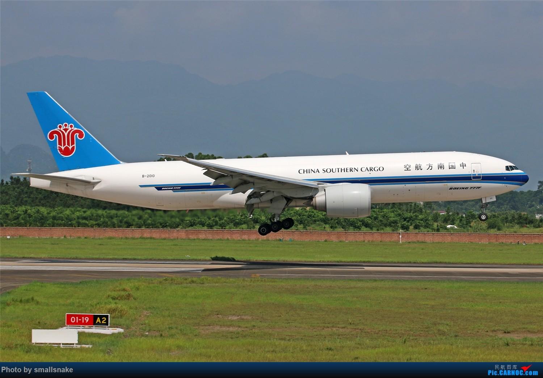 Re:[原创][原创]桂林机场拍机...金鹏787最后时光+南航77F训练... BOEING 777F B-2010 桂林两江国际机场