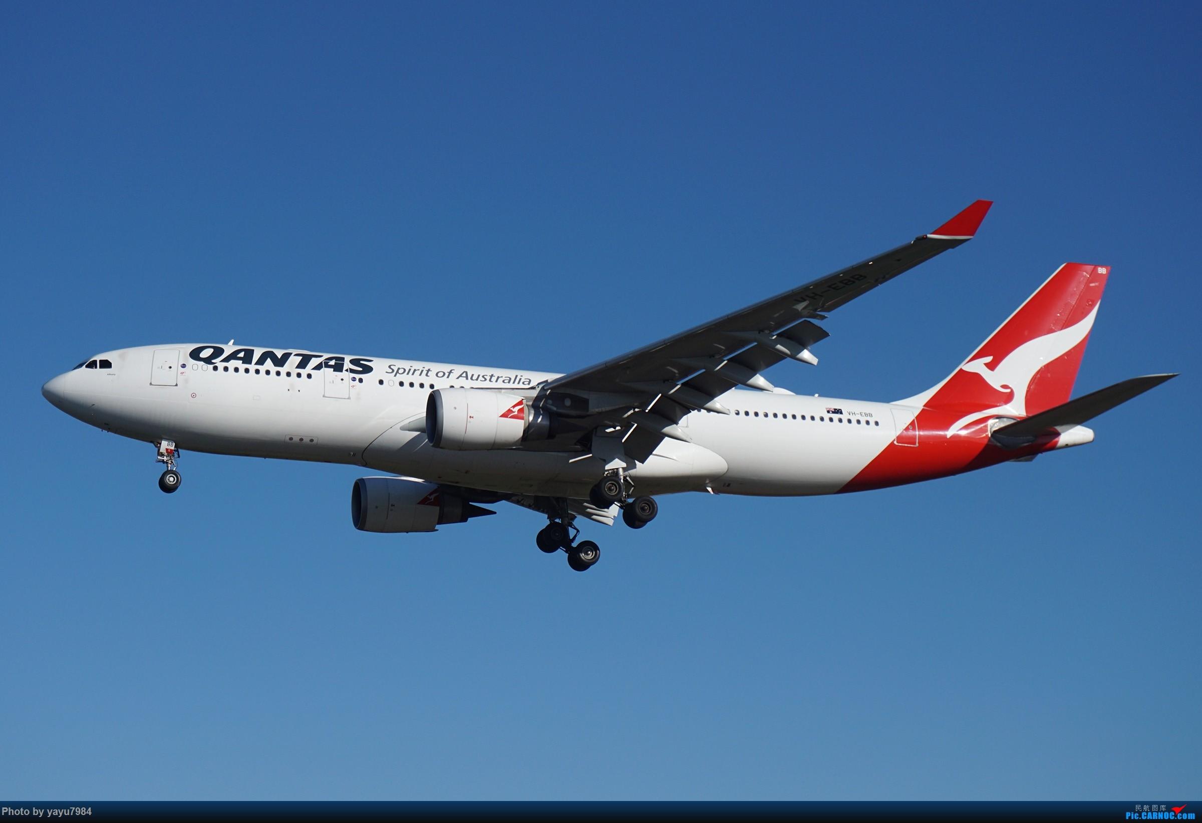 Re:[原创][SYD] 晨悉尼,16R扎堆到达 AIRBUS A330-200 VH-EBB 澳大利亚悉尼金斯福德·史密斯机场