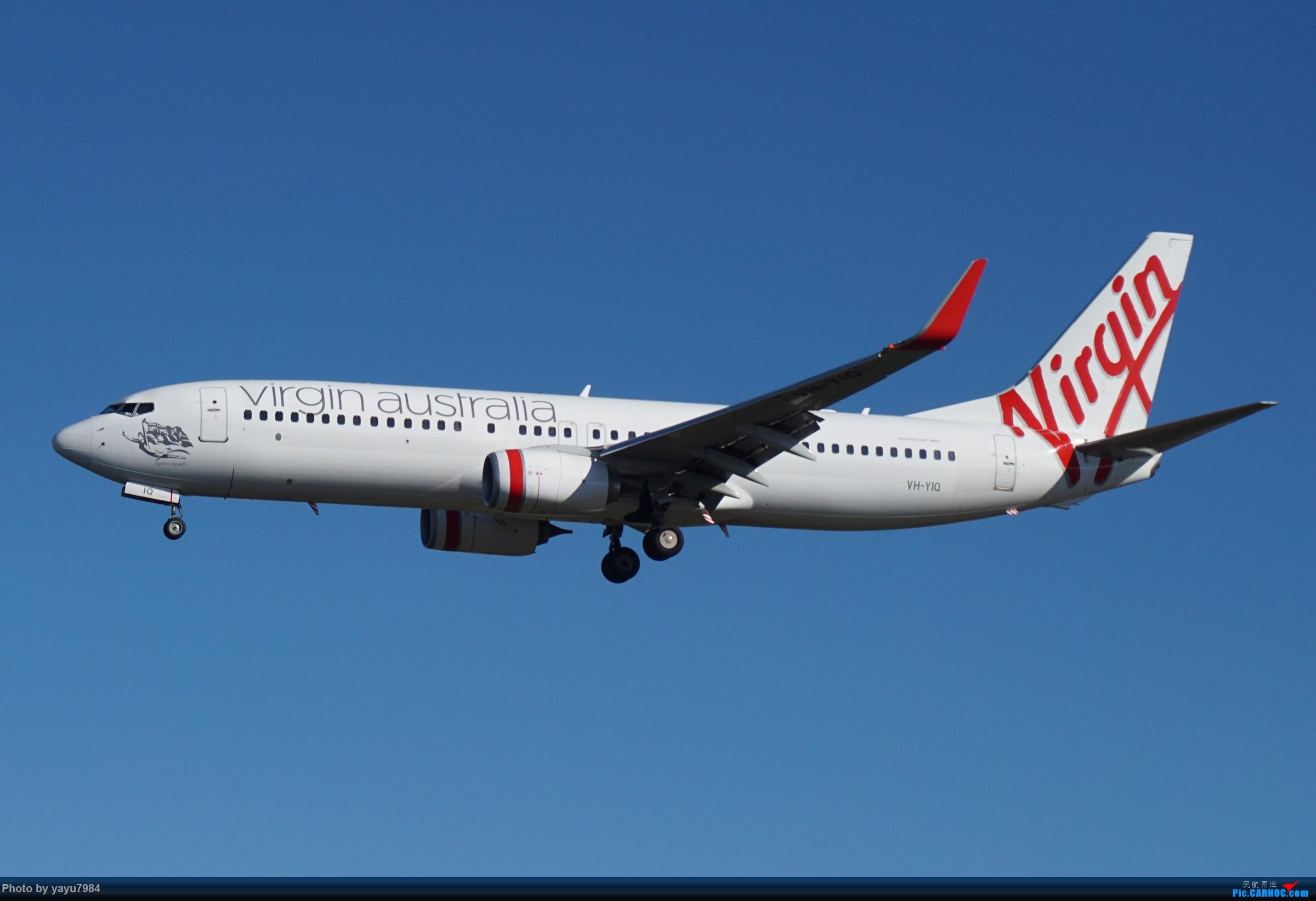 Re:[原创][SYD] 晨悉尼,16R扎堆到达 BOEING 737-800 VH-YIQ 澳大利亚悉尼金斯福德·史密斯机场