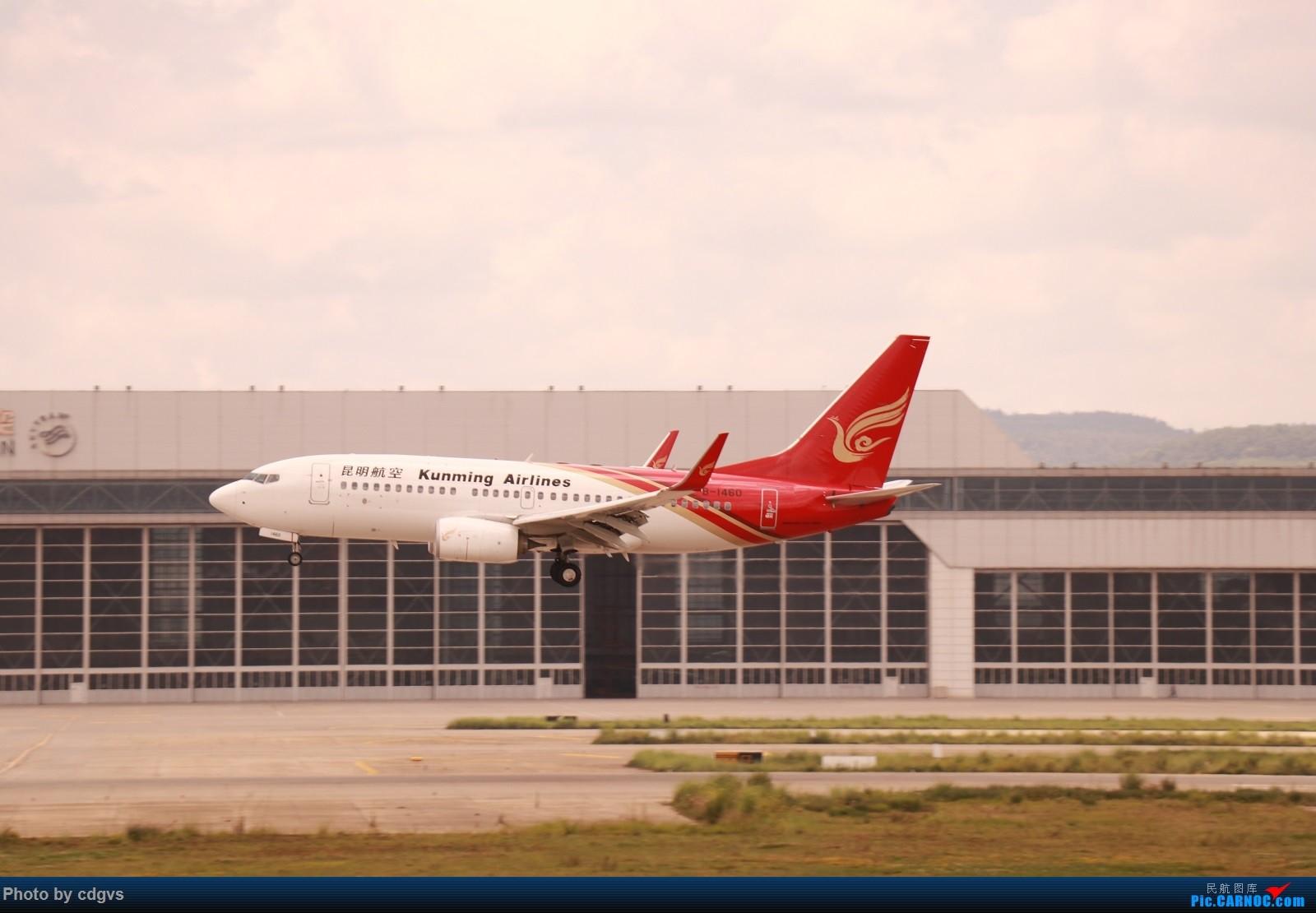 Re:[原创]【KMG】昆明的一天 1600大图 一次看个爽 BOEING 737-700 B-1460 中国昆明长水国际机场