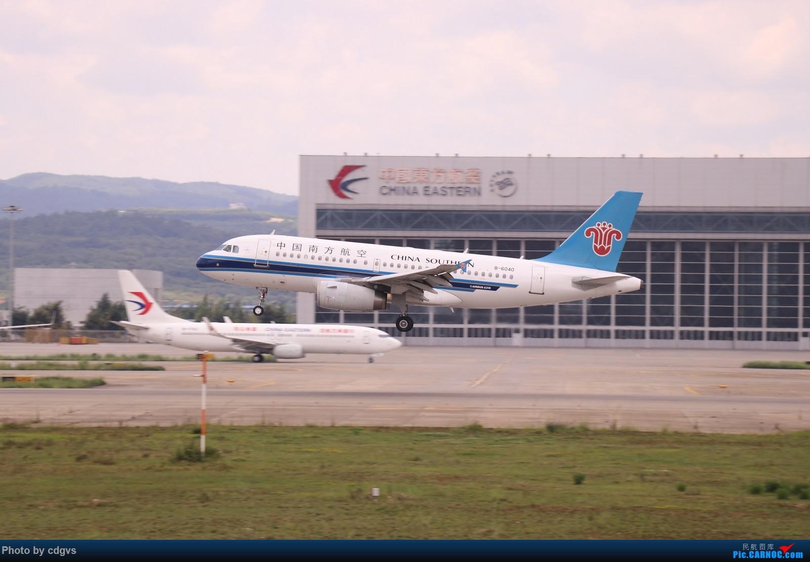 Re:[原创]【KMG】昆明的一天 1600大图 一次看个爽 AIRBUS A319-100 B-6040 中国昆明长水国际机场