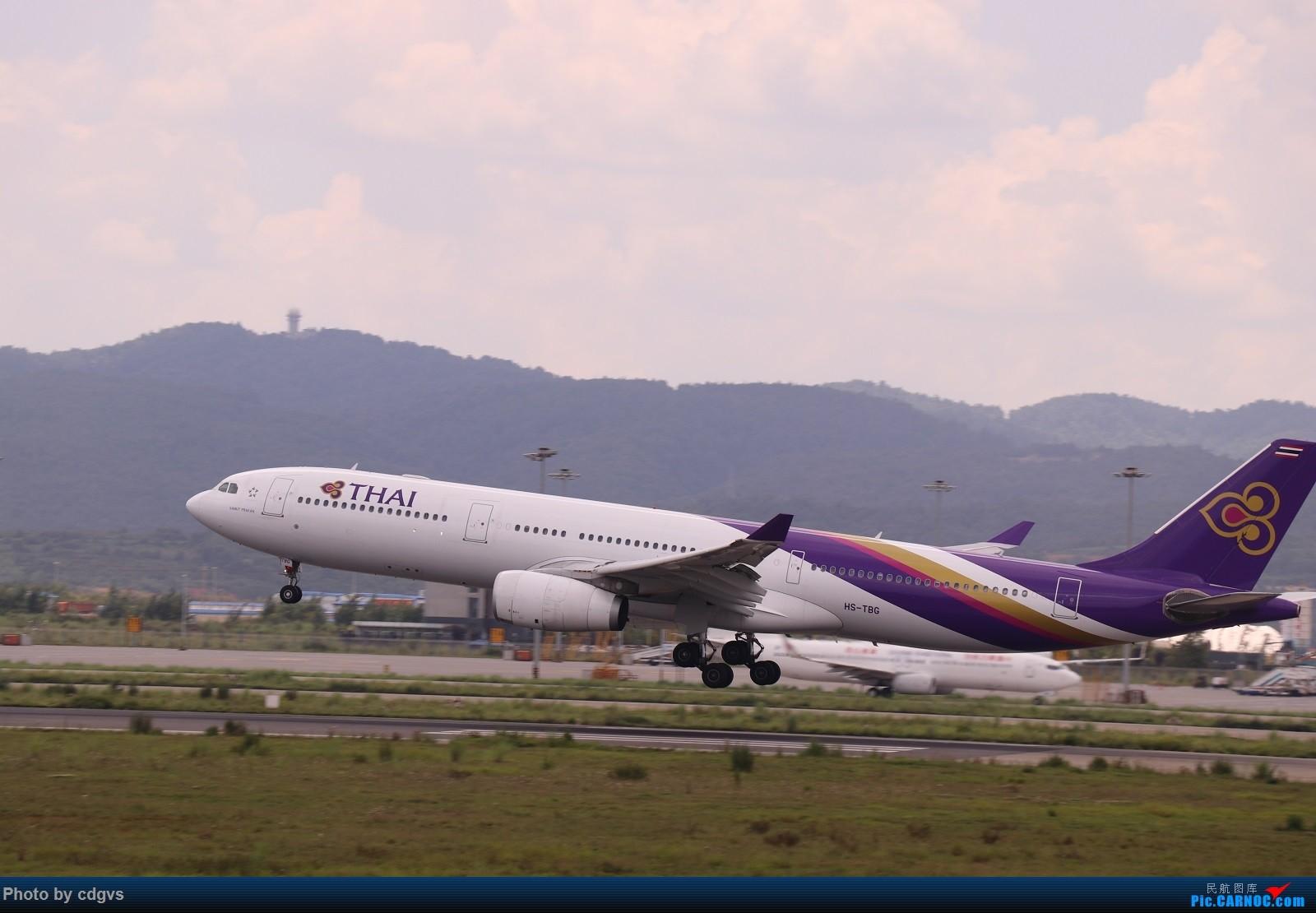 Re:[原创]【KMG】昆明的一天 1600大图 一次看个爽 AIRBUS A330-300 HS-TBG 中国昆明长水国际机场