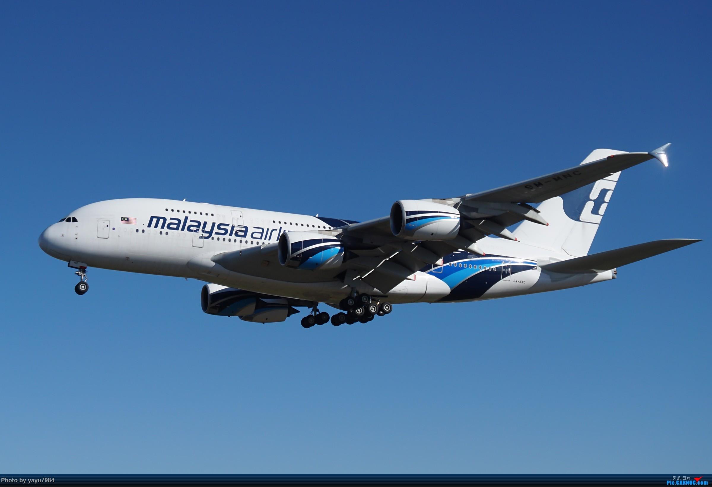 Re:[原创][SYD] 晨悉尼,16R扎堆到达 AIRBUS A380-800 9M-MNC 澳大利亚悉尼金斯福德·史密斯机场