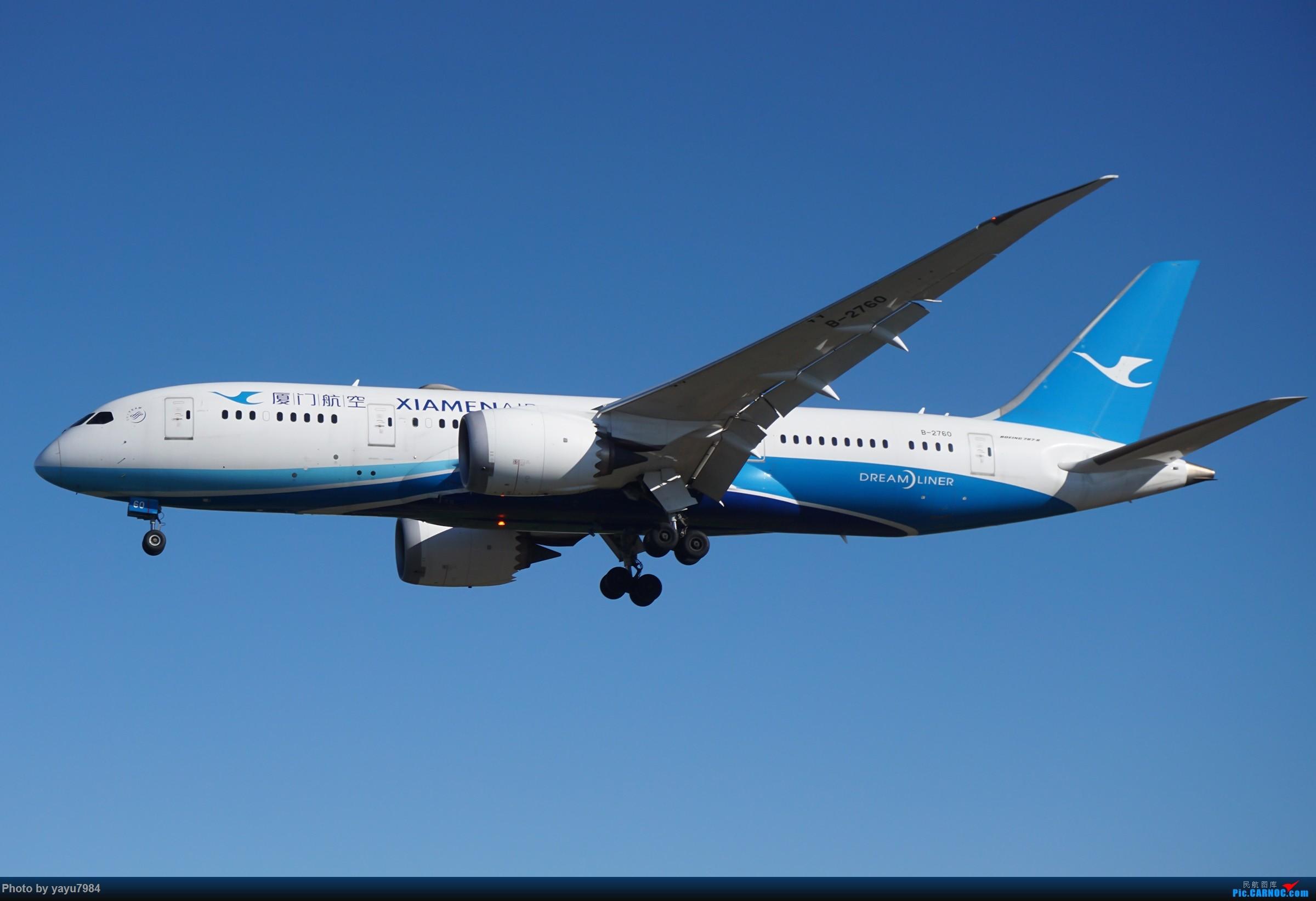 Re:[原创][SYD] 晨悉尼,16R扎堆到达 BOEING 787-8 B-2760 澳大利亚悉尼金斯福德·史密斯机场