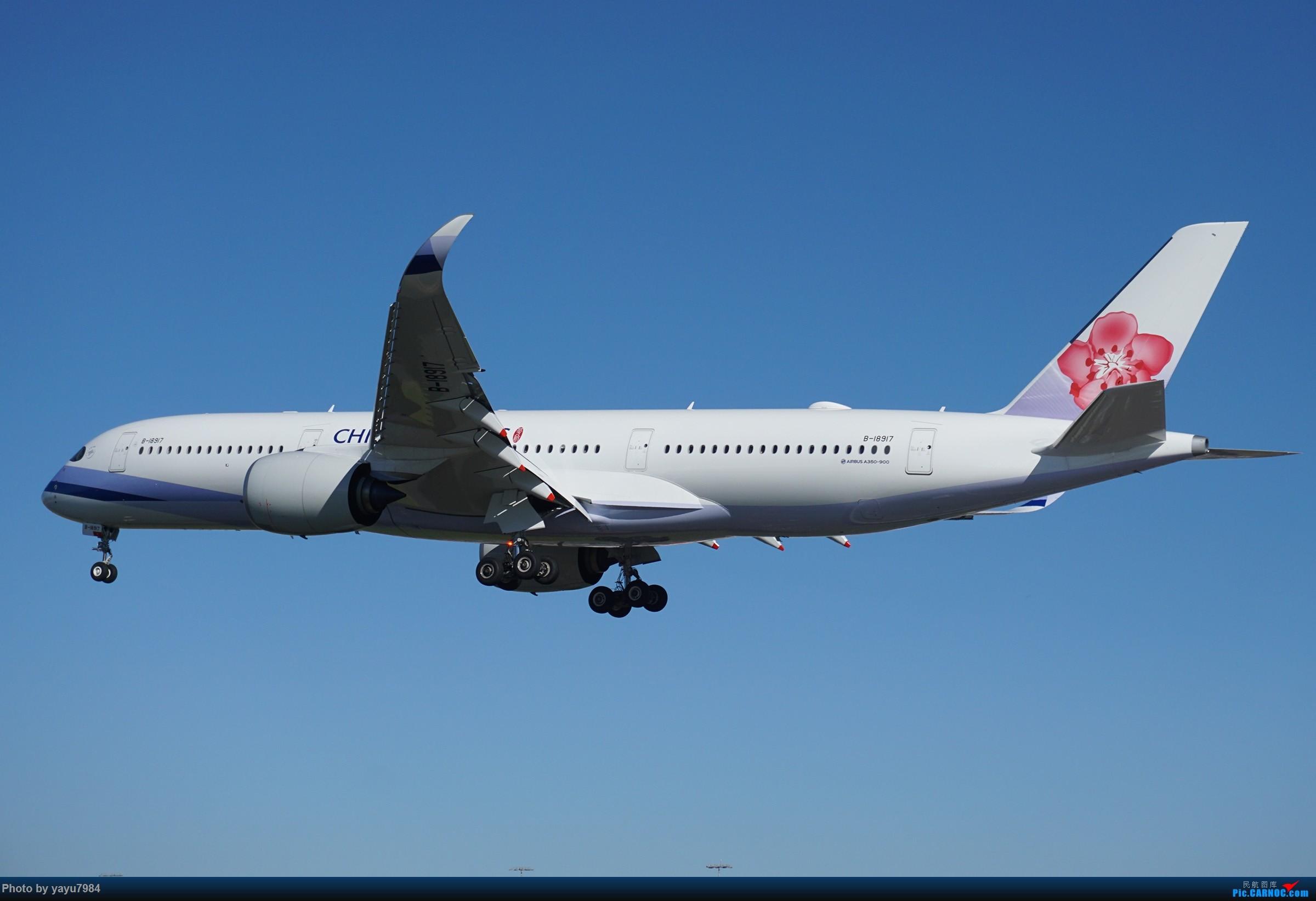 Re:[原创][SYD] 晨悉尼,16R扎堆到达 AIRBUS A350-900 B-18917 澳大利亚悉尼金斯福德·史密斯机场