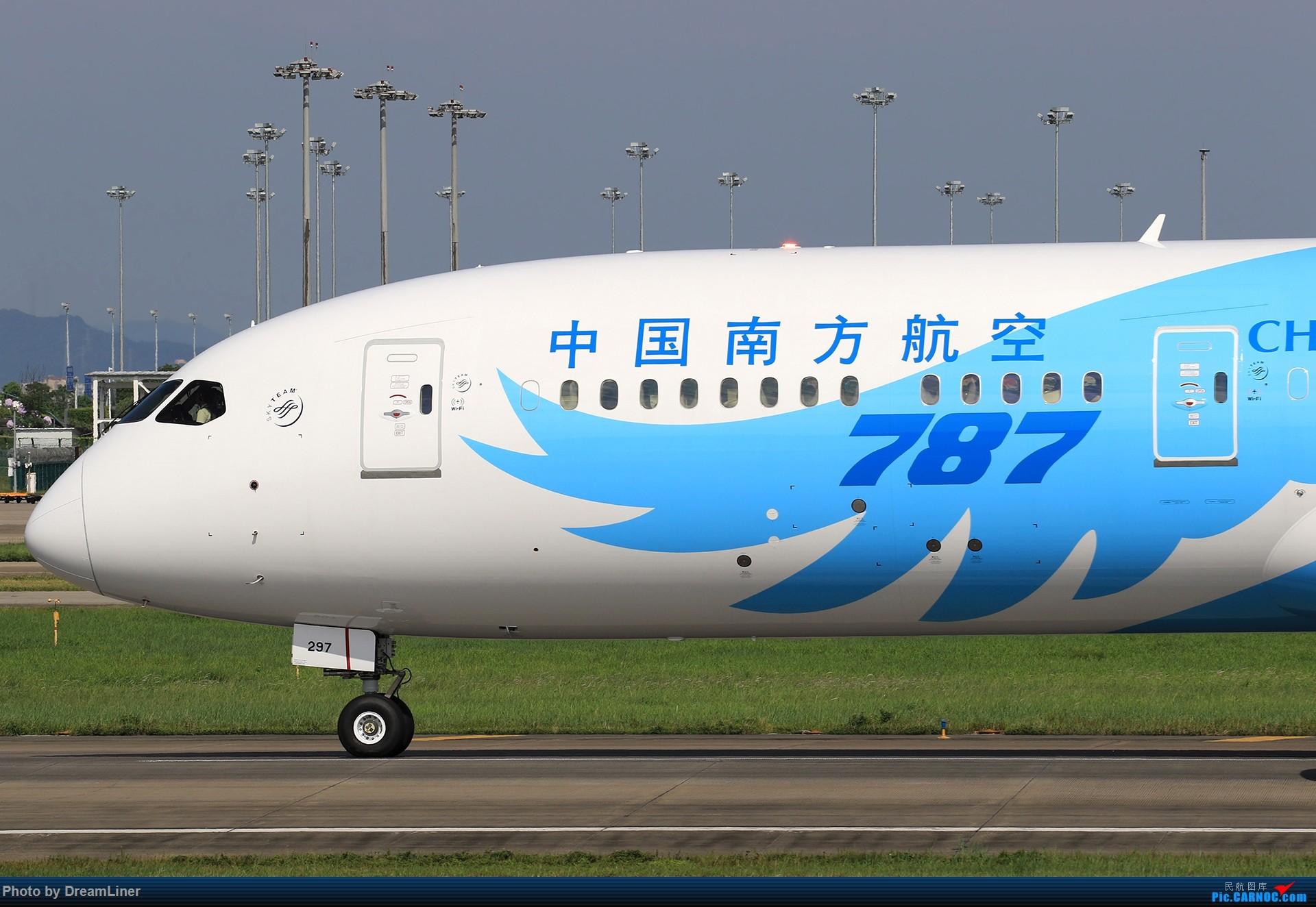 [原创]【CAN】又是诱人的蓝天 BOEING 787-9 B-1297 中国广州白云国际机场