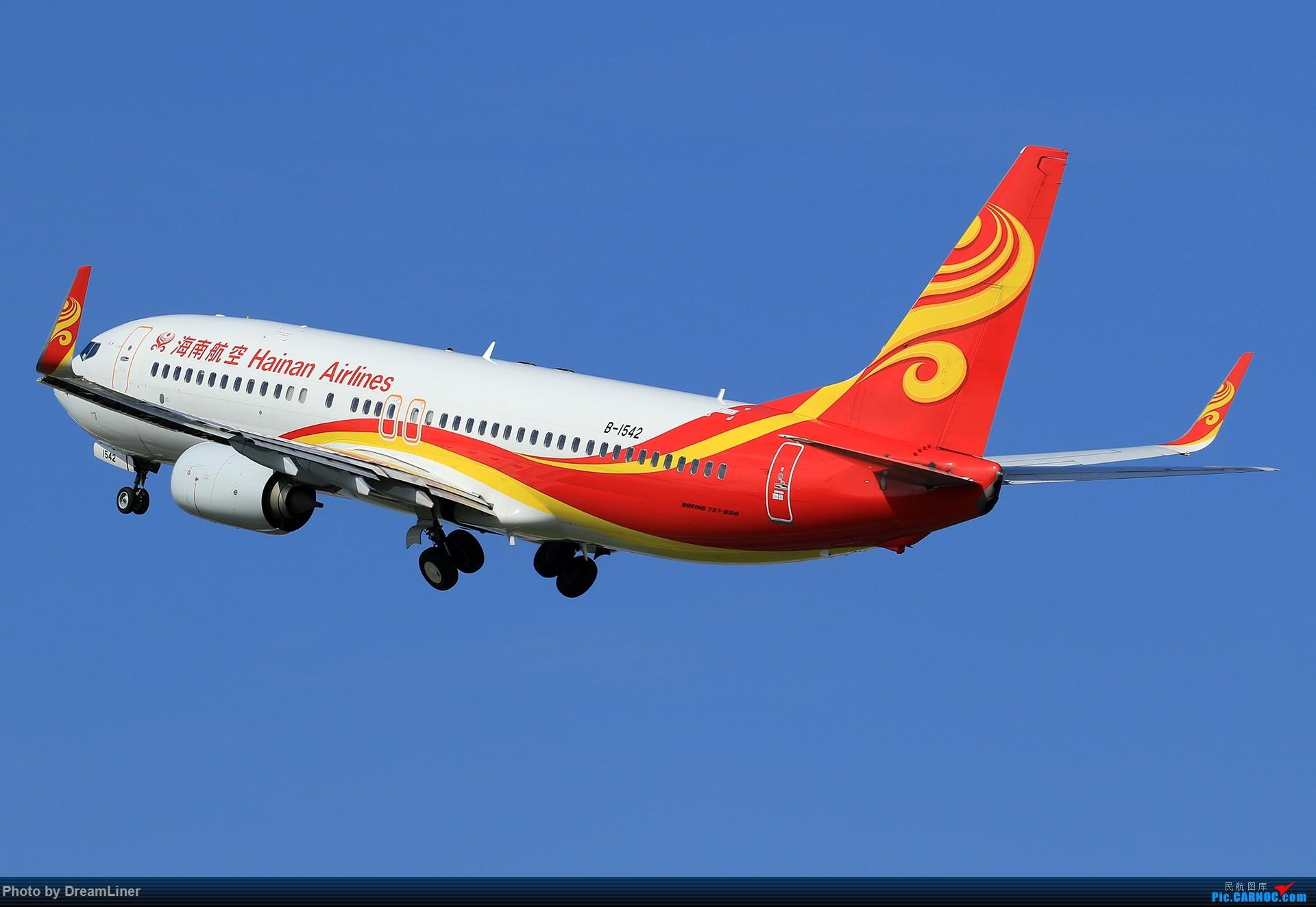 Re:[原创]【CAN】又是诱人的蓝天 BOEING 737-800 B-1542 中国广州白云国际机场