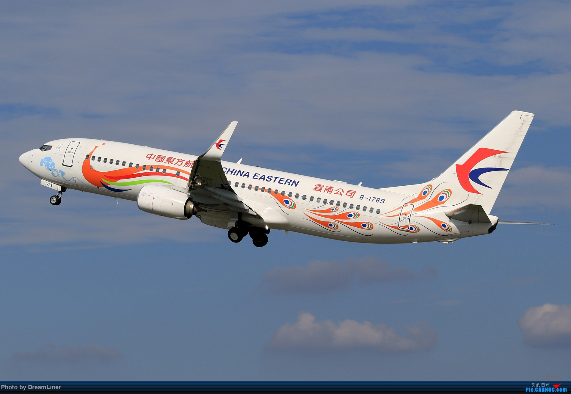 Re:[原创]【CAN】又是诱人的蓝天 BOEING 737-800 B-1789 中国广州白云国际机场