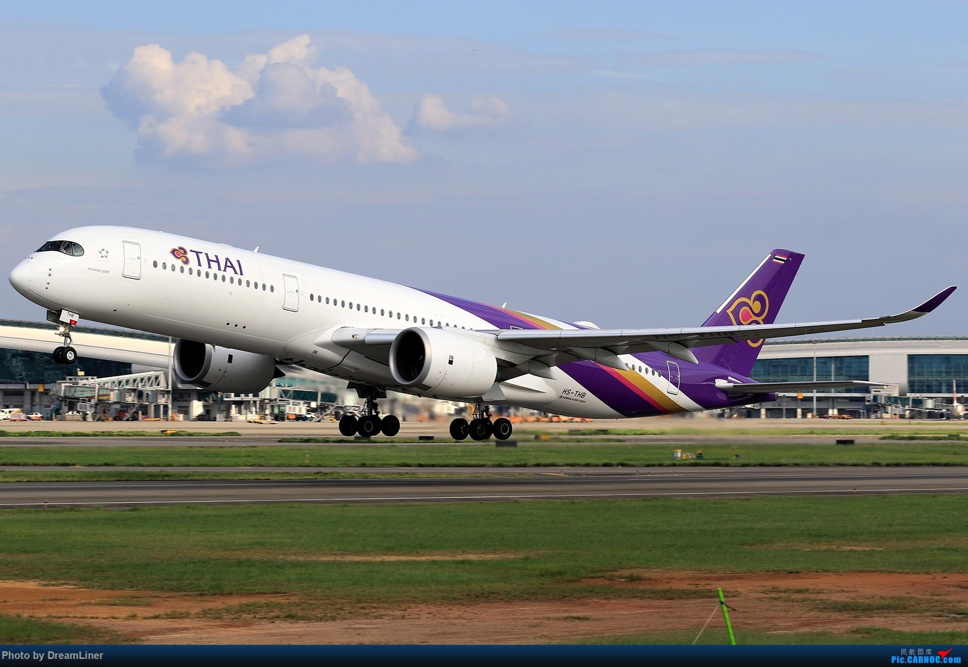 Re:【CAN】又是诱人的蓝天 AIRBUS A350-900 HS-THB 中国广州白云国际机场