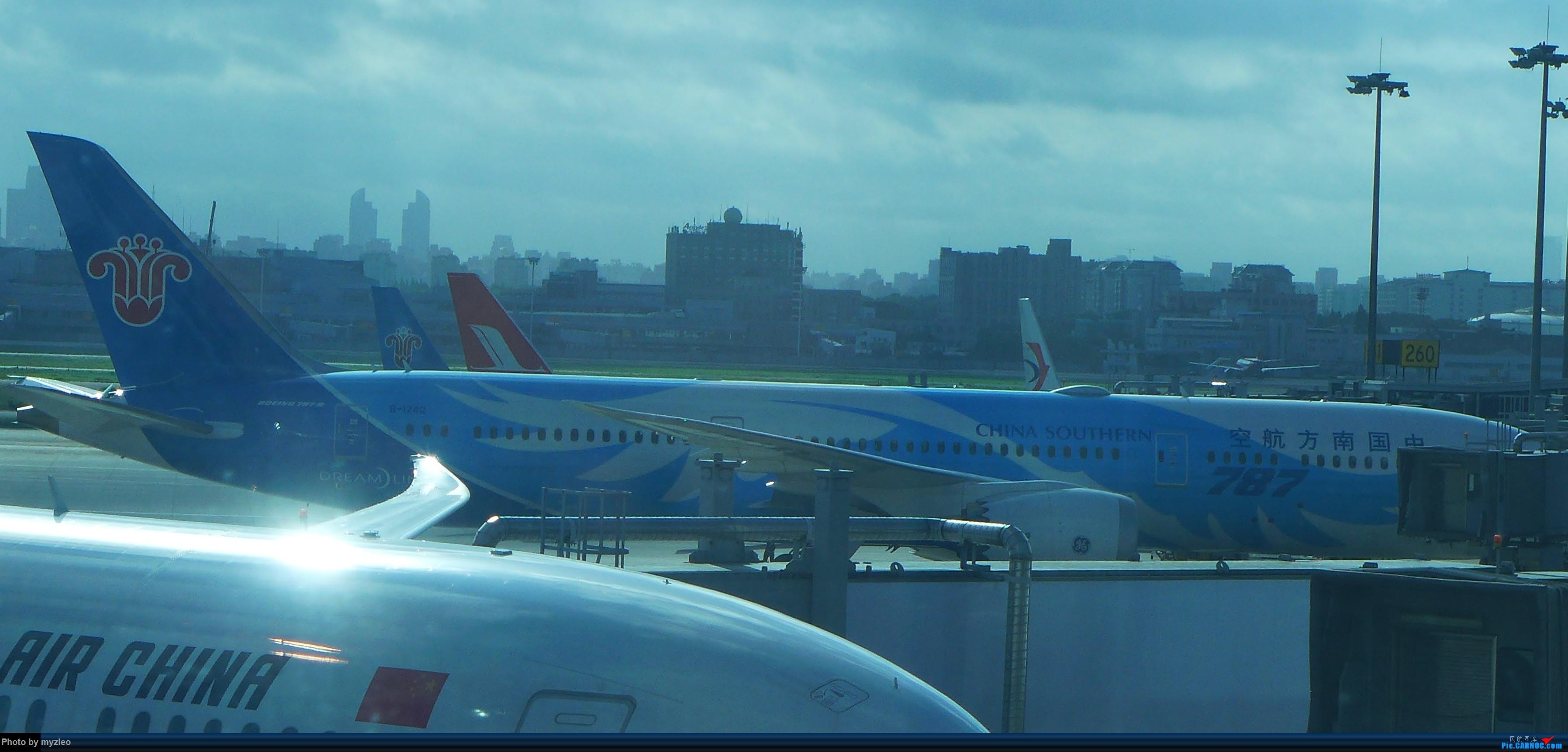 Re:[原创]【myzleo的游记2.1】昆洱风光(1)——SHA-KMG上航商务舱再体验+人在昆明 BOEING 787-9 B-1242 中国上海虹桥国际机场
