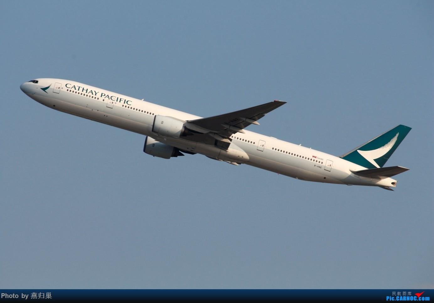 Re:[原创]【HKG】七月香港拍机合集 BOEING 777-300 B-HNE 中国香港国际机场