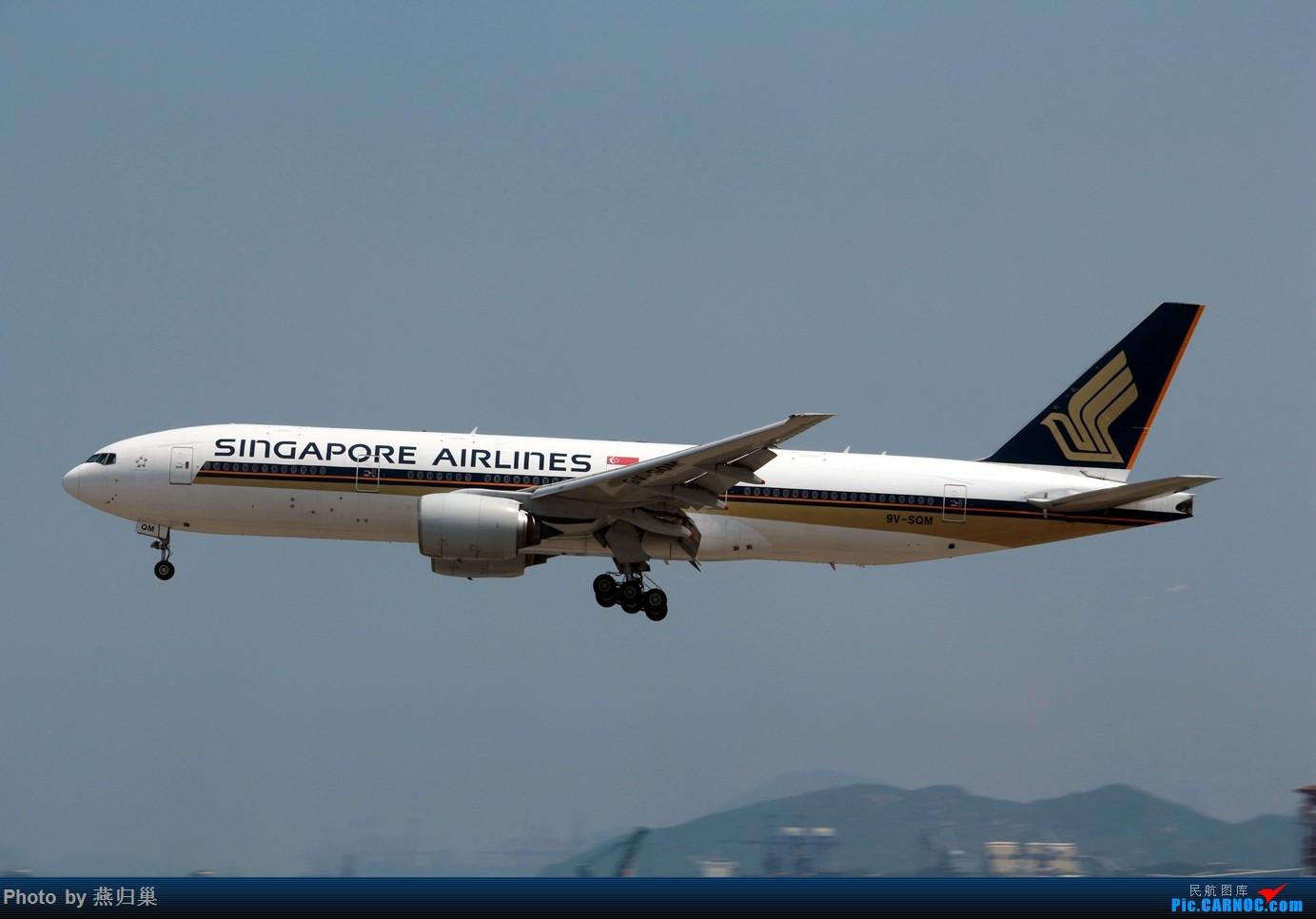 Re:[原创]【HKG】七月香港拍机合集 B772 9V-SQM 中国香港国际机场