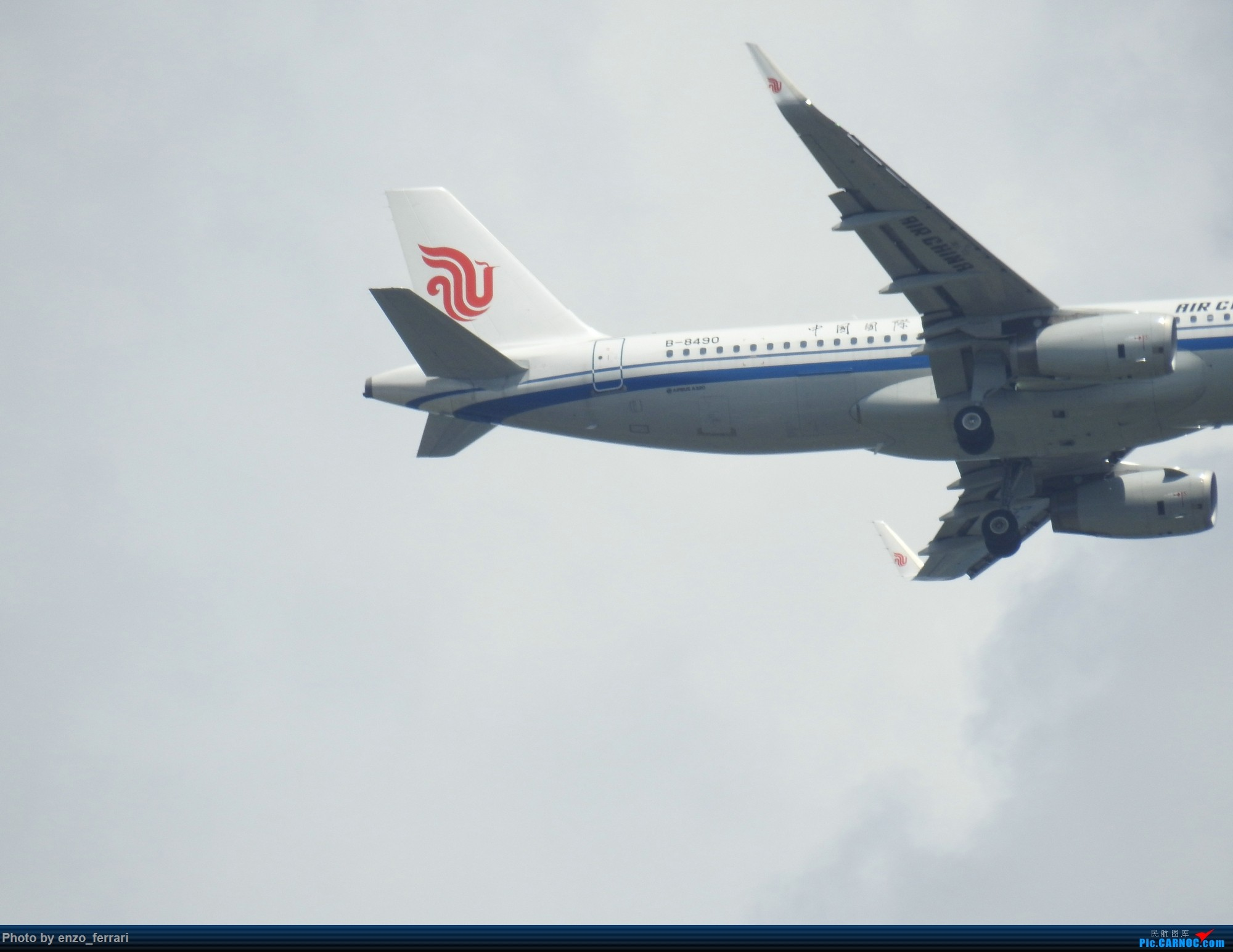 Re:[原创]【KWE】贵阳3000英尺拍飞机进近 AIRBUS A320-200 B-8490 中国贵阳龙洞堡国际机场