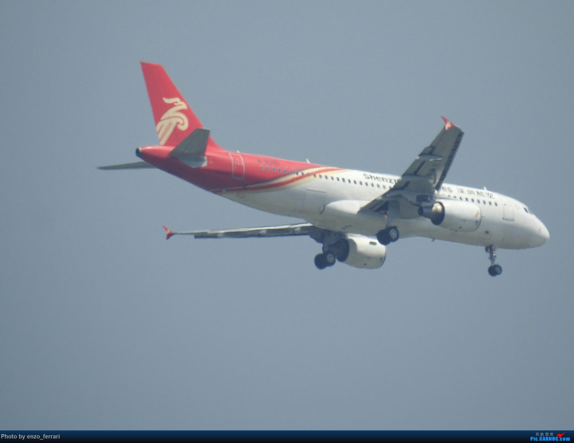 Re:[原创]【KWE】贵阳3000英尺拍飞机进近 AIRBUS A320-200 B-6392 中国贵阳龙洞堡国际机场