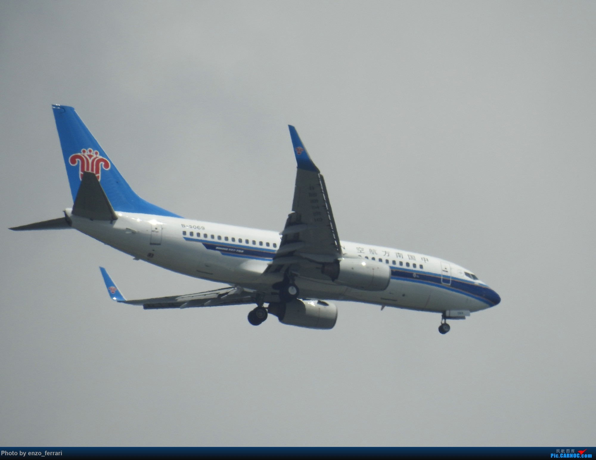 Re:[原创]【KWE】贵阳3000英尺拍飞机进近 BOEING 737-700 B-5069 中国贵阳龙洞堡国际机场