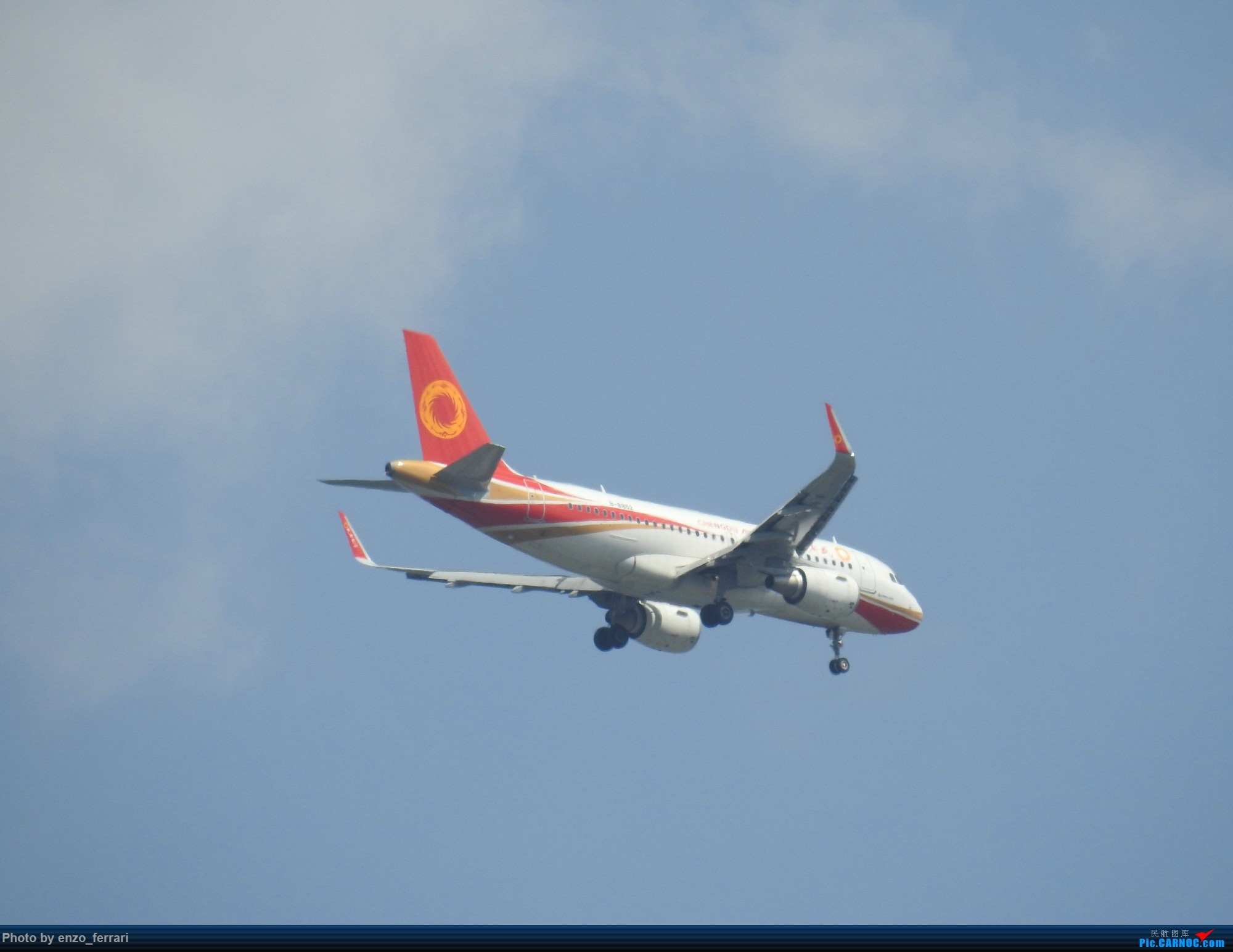 Re:[原创]【KWE】贵阳3000英尺拍飞机进近 AIRBUS A319-100 B-8852 中国贵阳龙洞堡国际机场