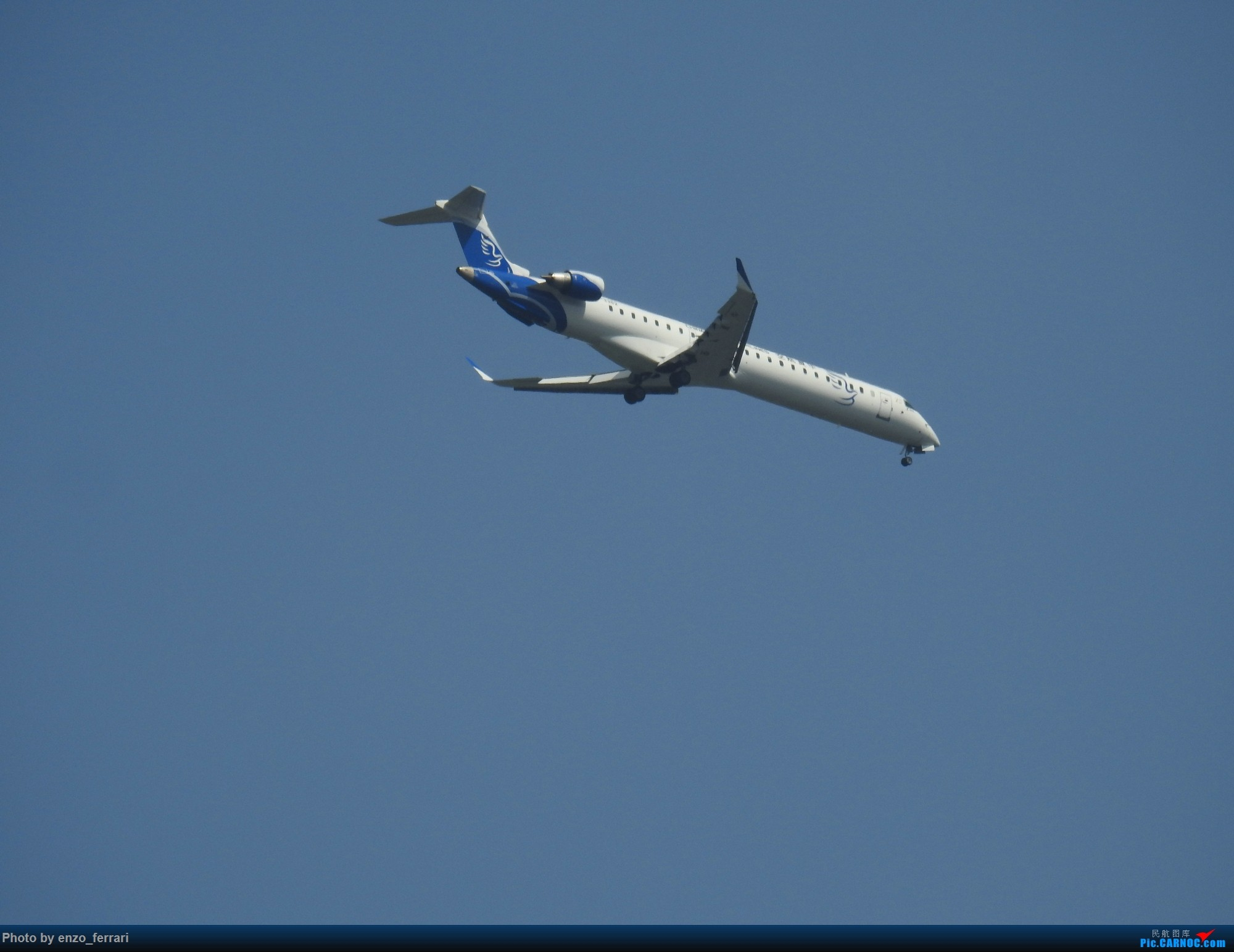 Re:[原创]【KWE】贵阳3000英尺拍飞机进近 BOMBARDIER CRJ900NG B-3382 中国贵阳龙洞堡国际机场