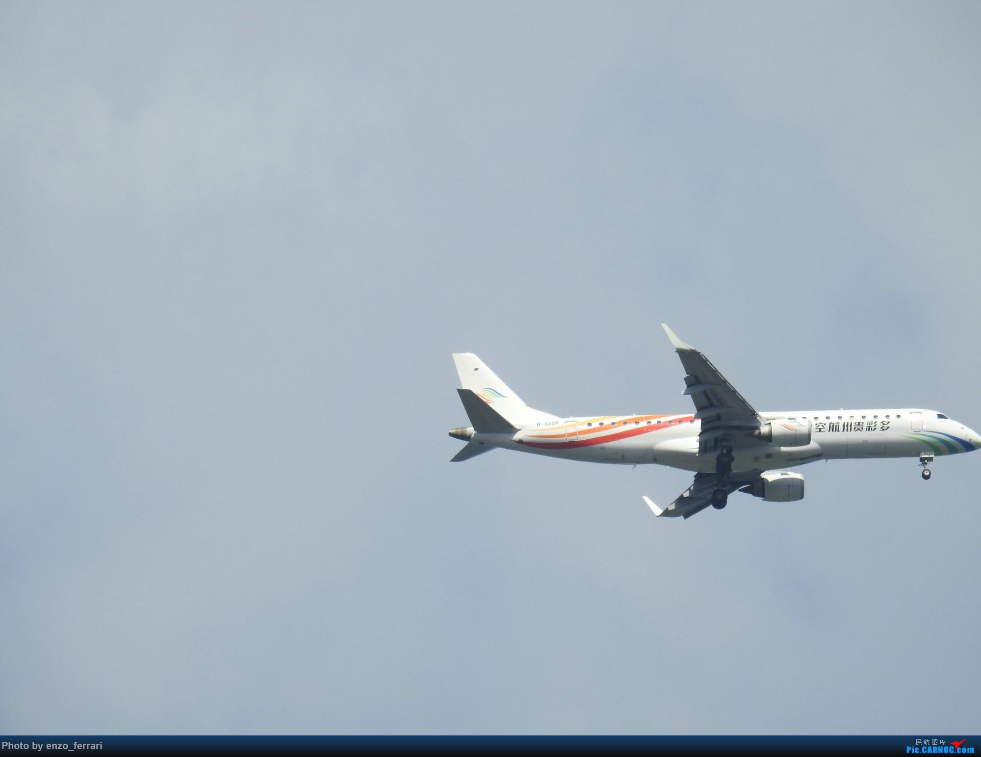 Re:[原创]【KWE】贵阳3000英尺拍飞机进近 EMBRAER E-190 B-3225 中国贵阳龙洞堡国际机场