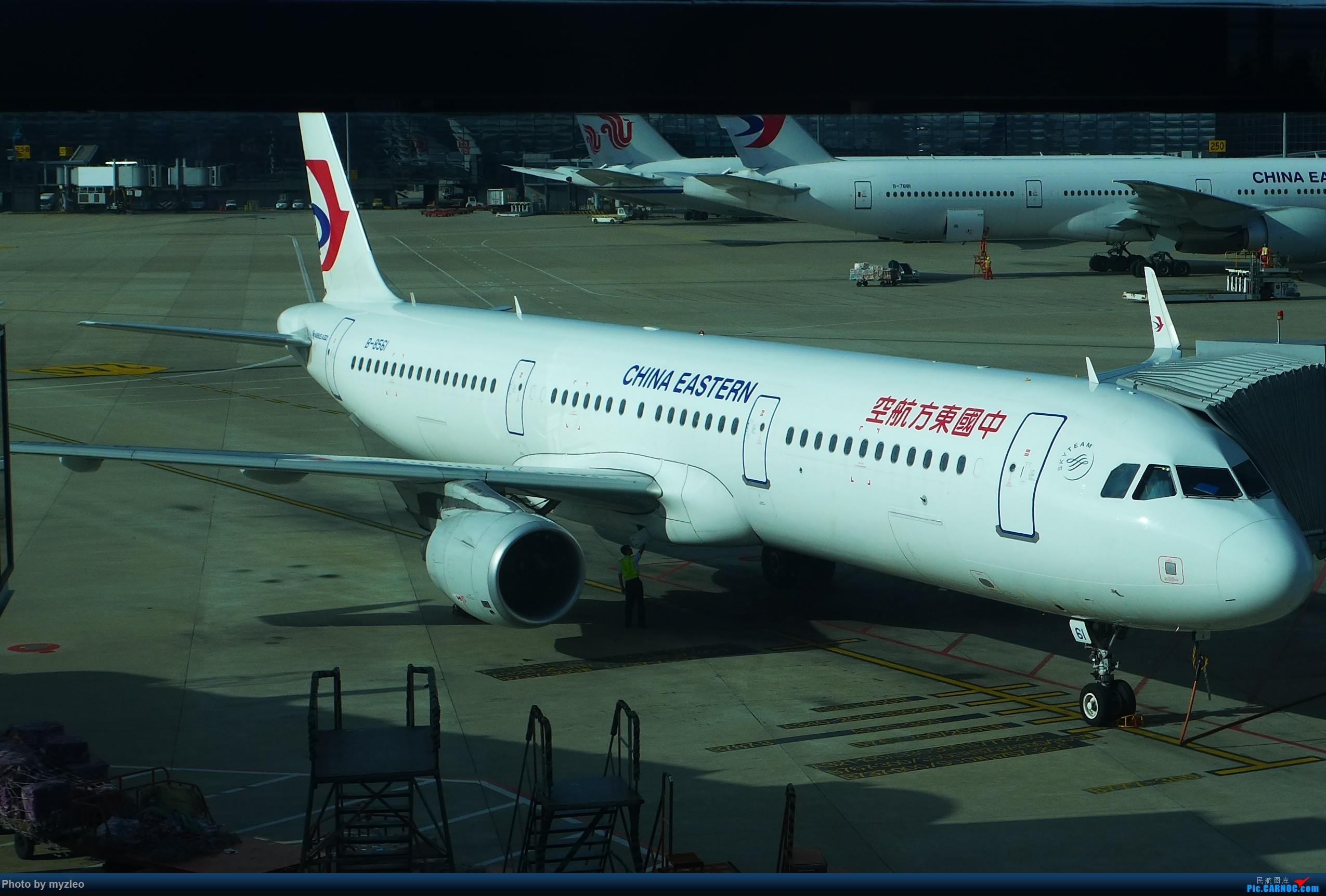 Re:[原创]【myzleo的游记2.1】昆洱风光(1)——SHA-KMG上航商务舱再体验+人在昆明 AIRBUS A321-200 B-8561 中国上海虹桥国际机场