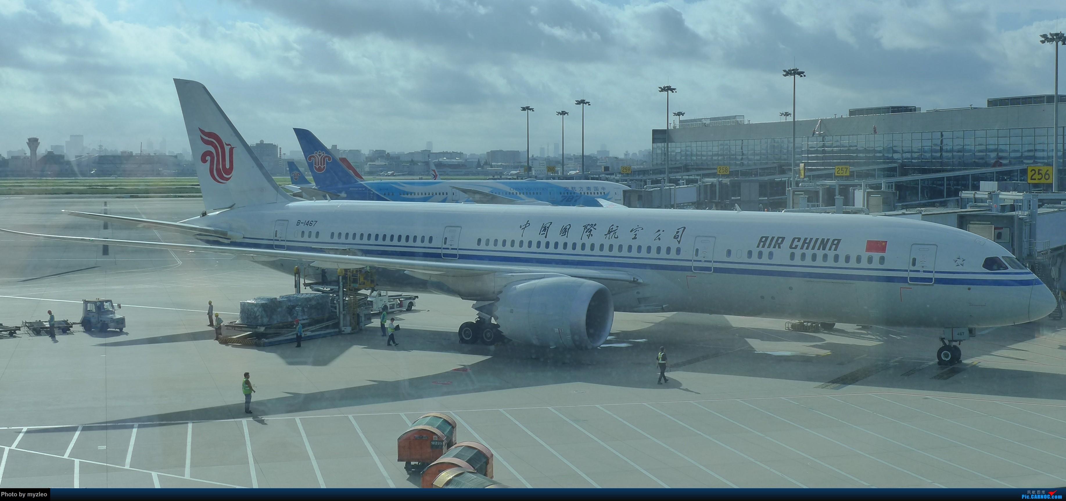 Re:[原创]【myzleo的游记2.1】昆洱风光(1)——SHA-KMG上航商务舱再体验+人在昆明 BOEING 787-9 B-1467 中国上海虹桥国际机场