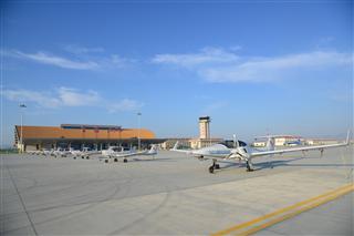 富蘊機場過夜航空器首次達到9架