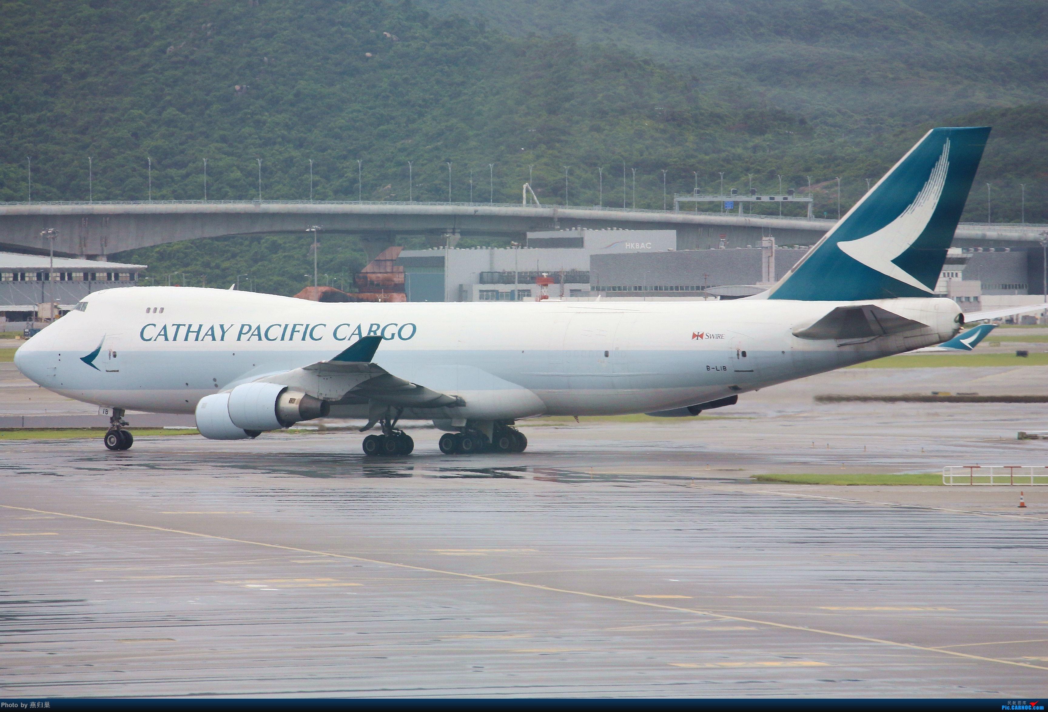 Re:[原创]【HKG】七月香港拍机合集 BOEING 747-400 B-LIB 中国香港国际机场